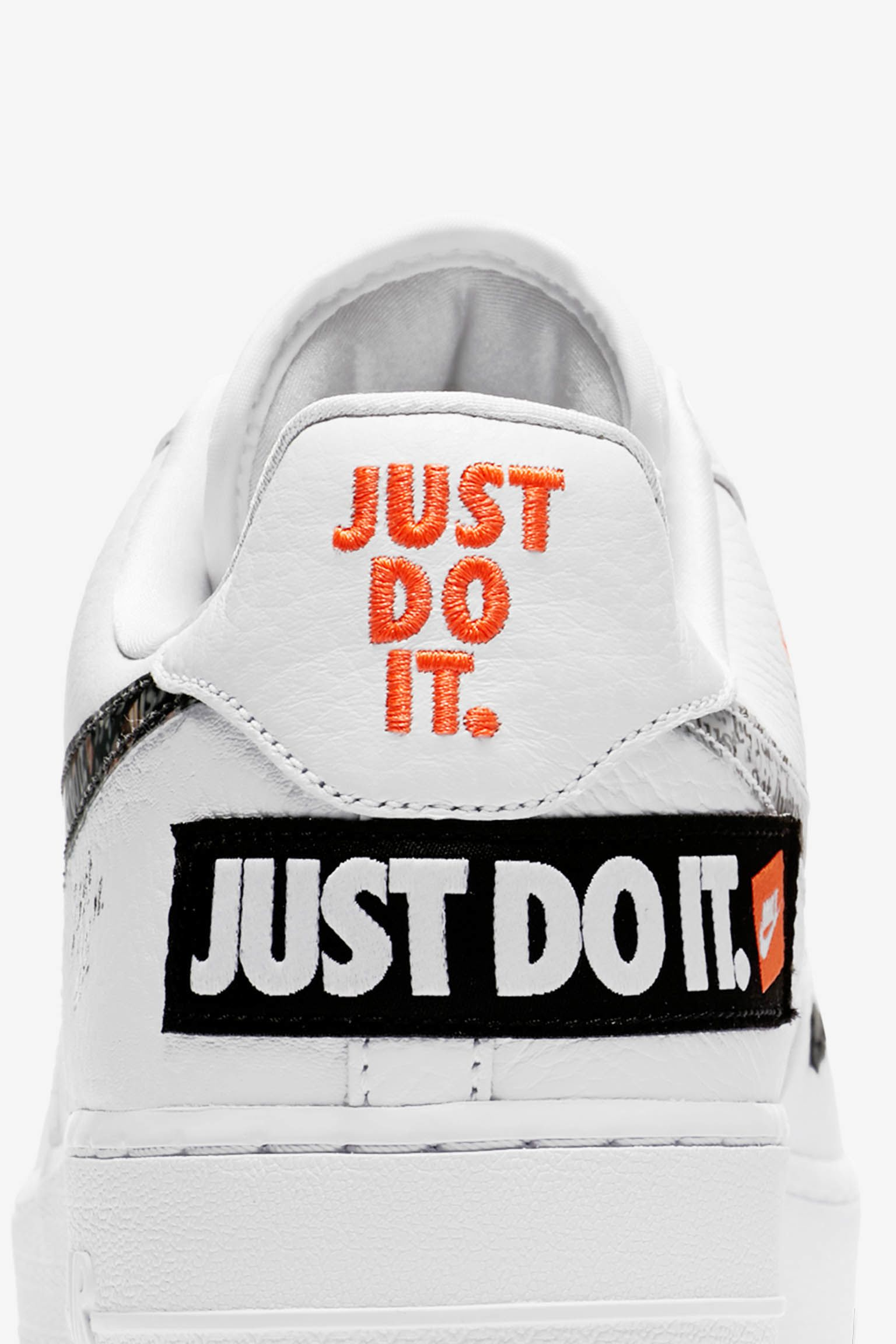 Just Do It Wallpaper: Nike Air Force 1 Premium Just Do It Collection 'White