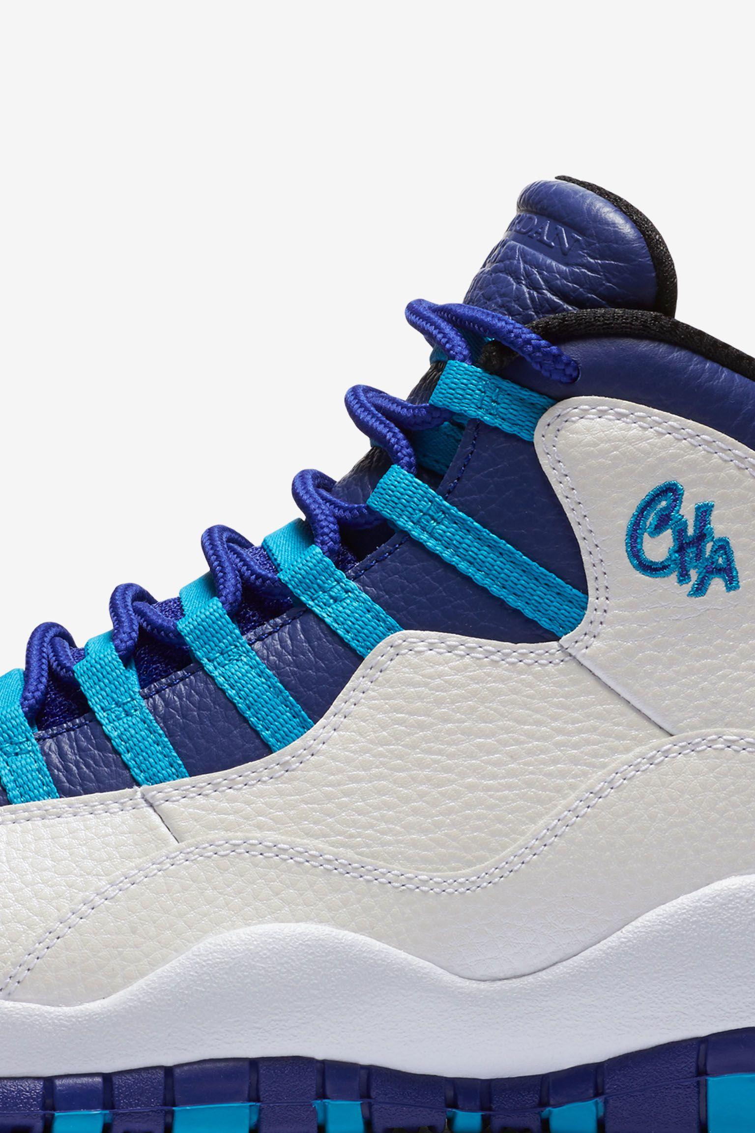 Air Jordan 10 Retro 'Charlotte' Release Date