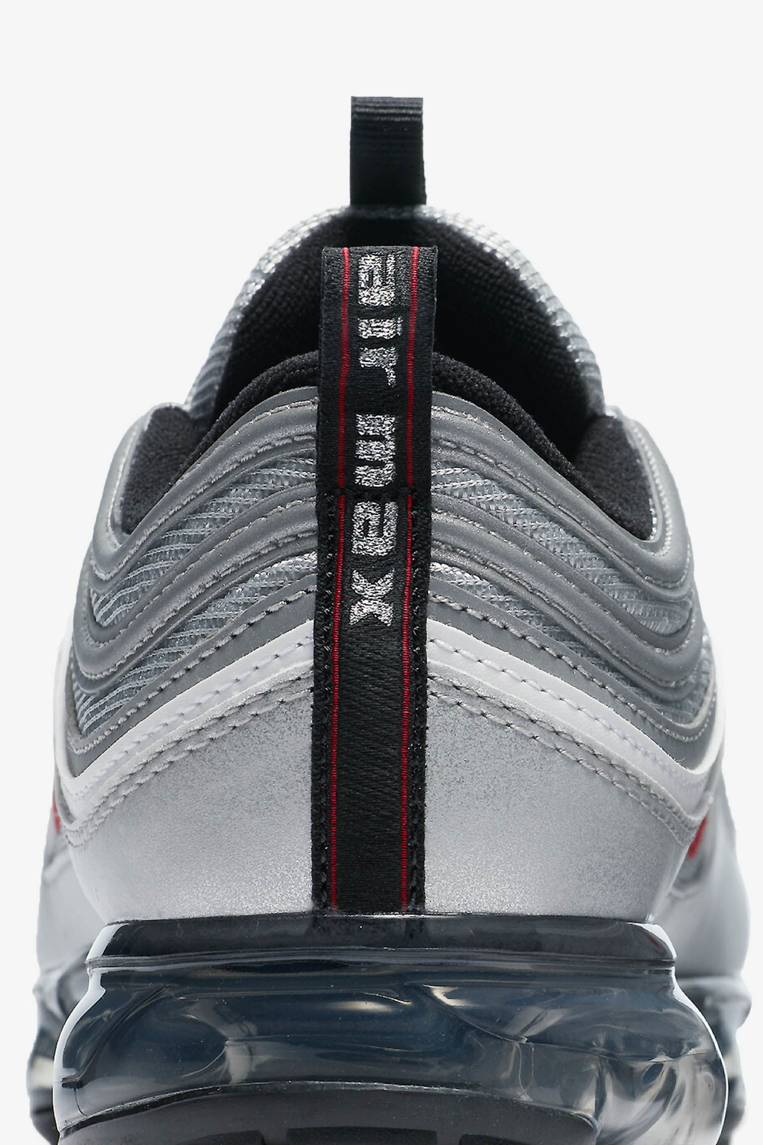 Nike Air Vapormax 97 'Metallic Silver & Varsity Red' Release Date