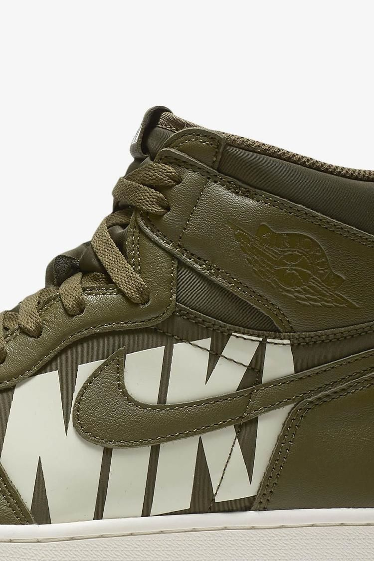 Air Jordan 1 'Olive Canvas & Sail' Release Date