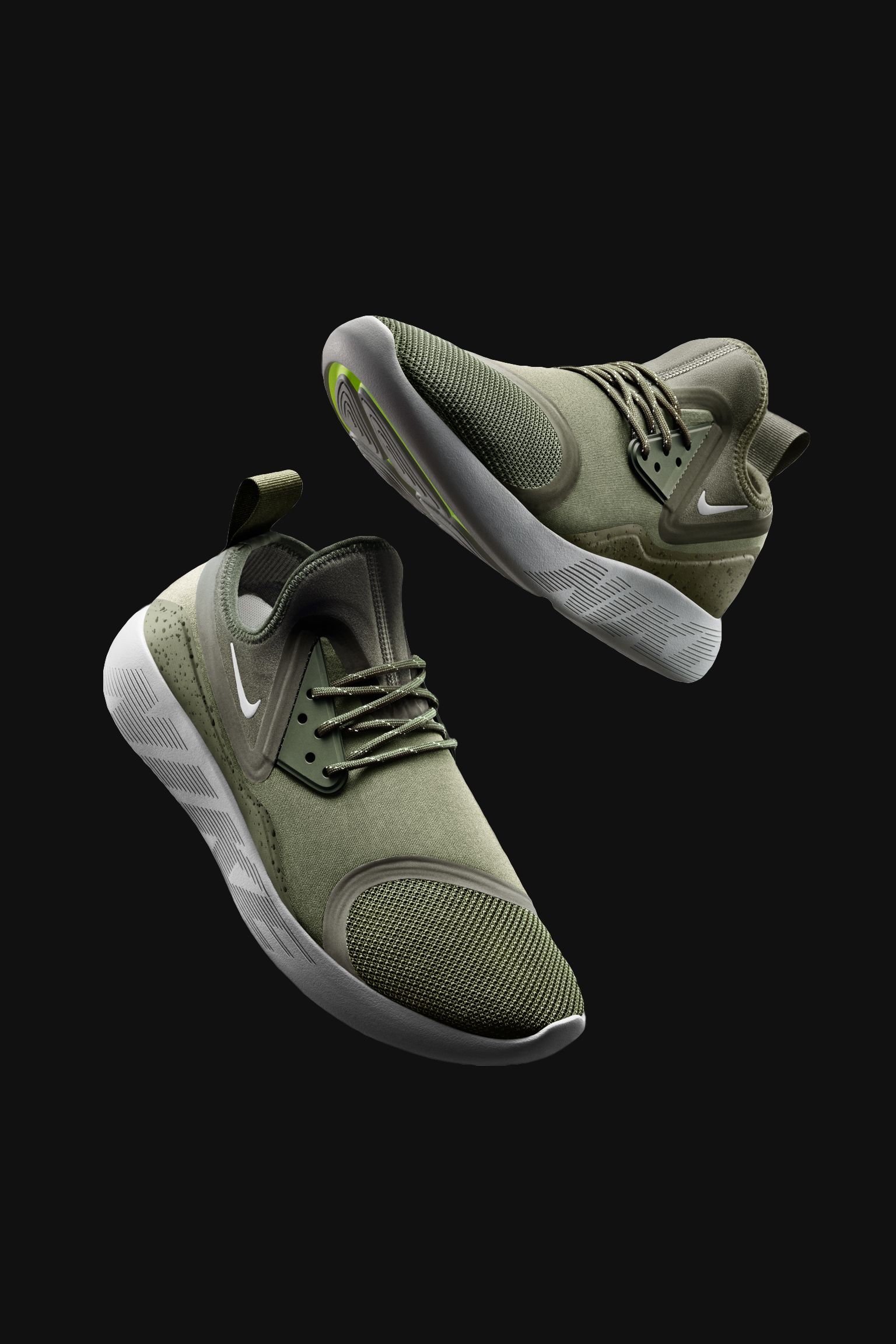 Nike LunarCharge Essential 'Medium Olive' voor dames
