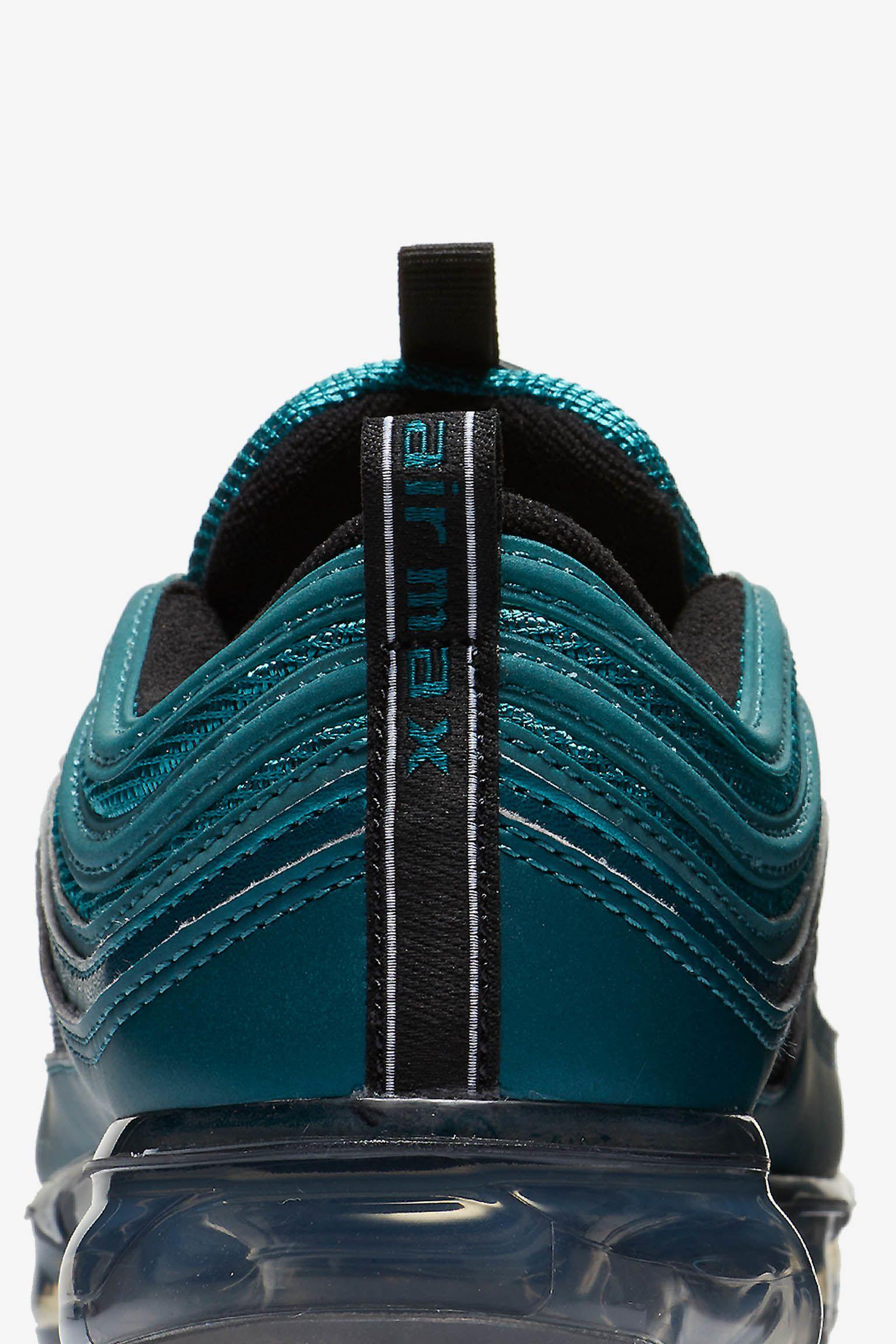 Nike Women's Air Vapormax 97 'Metallic Dark Sea & Black' Release Date