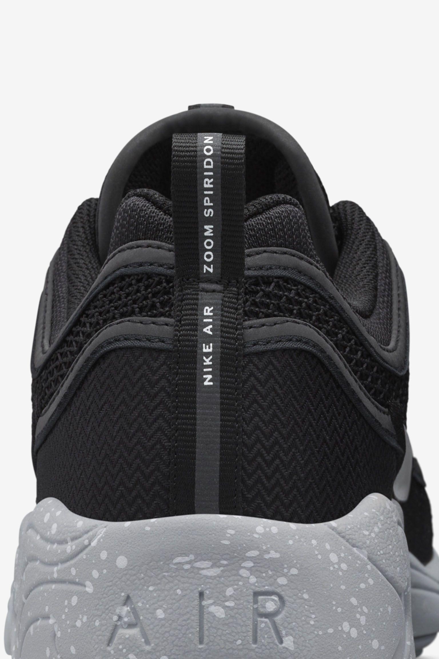 Nike Air Zoom Spiridon 'Black & Grey' Release Date