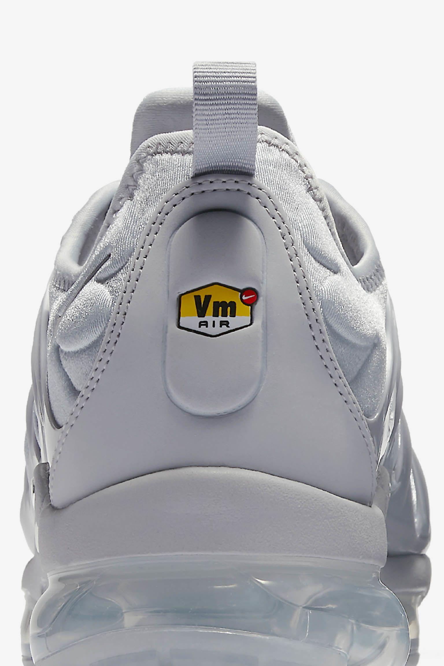 Nike Air Vapormax Plus 'Cool Grey & Metallic Silver' Release Date