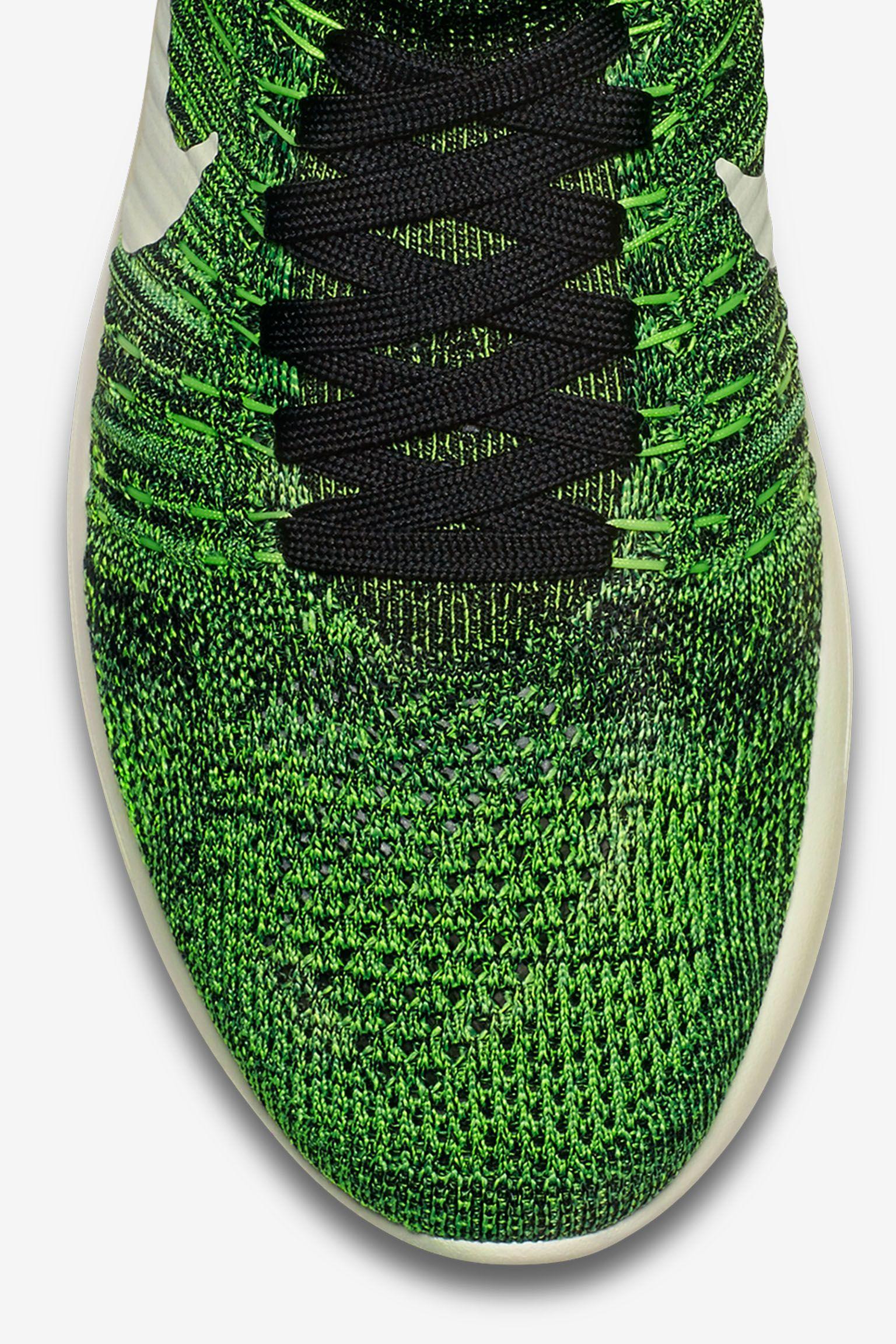 Nike LunarEpic Flyknit 'Poison Green'