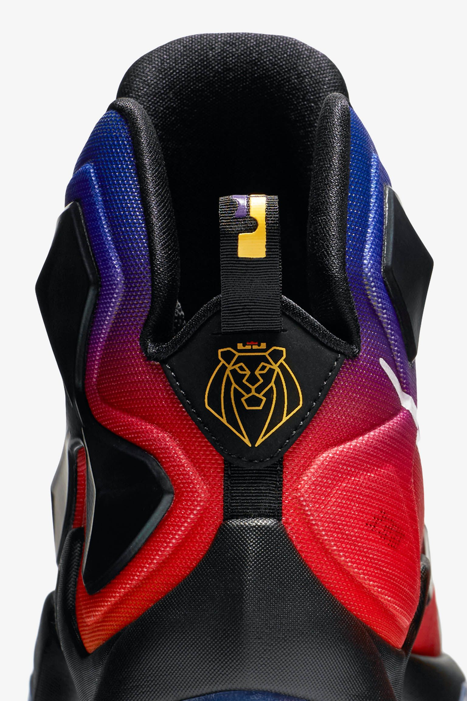 Nike LeBron 13 Doernbecher 'Laser Orange & Court Purple' Release Date