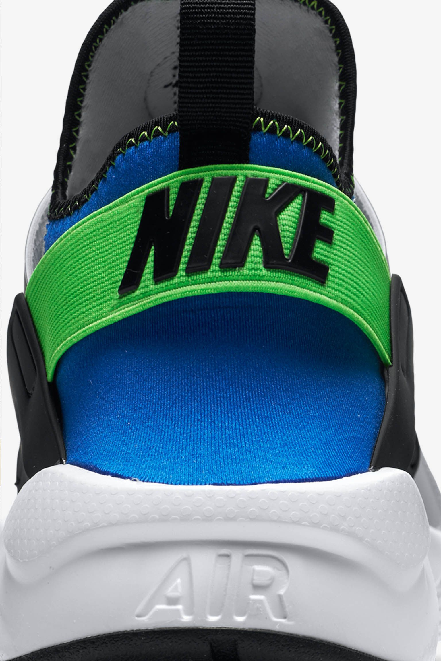Nike Air Huarache Ultra 'Royal Blue & Scream Green'
