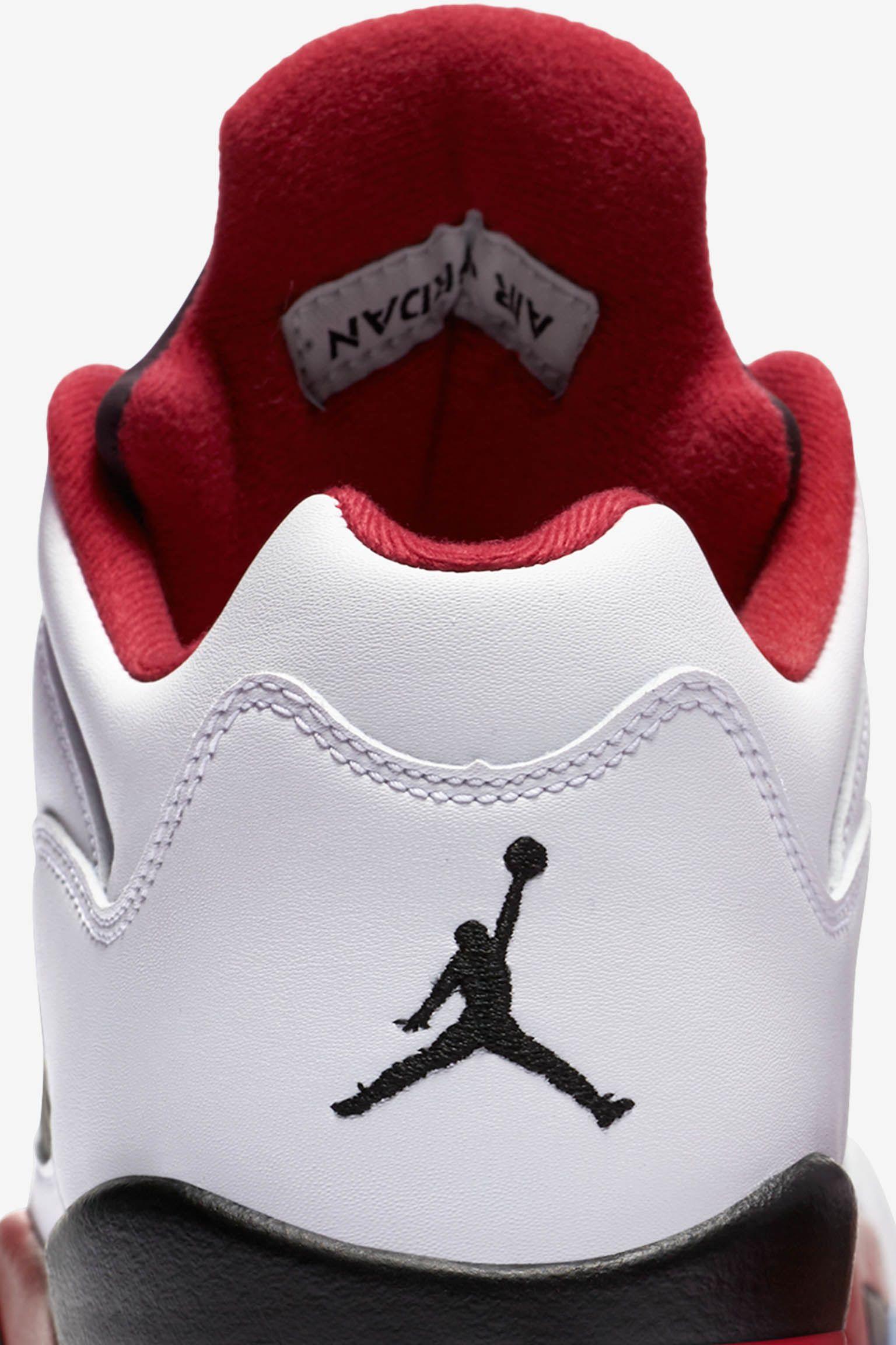 Air Jordan 5 Retro Low 'Fire Red' Release Date