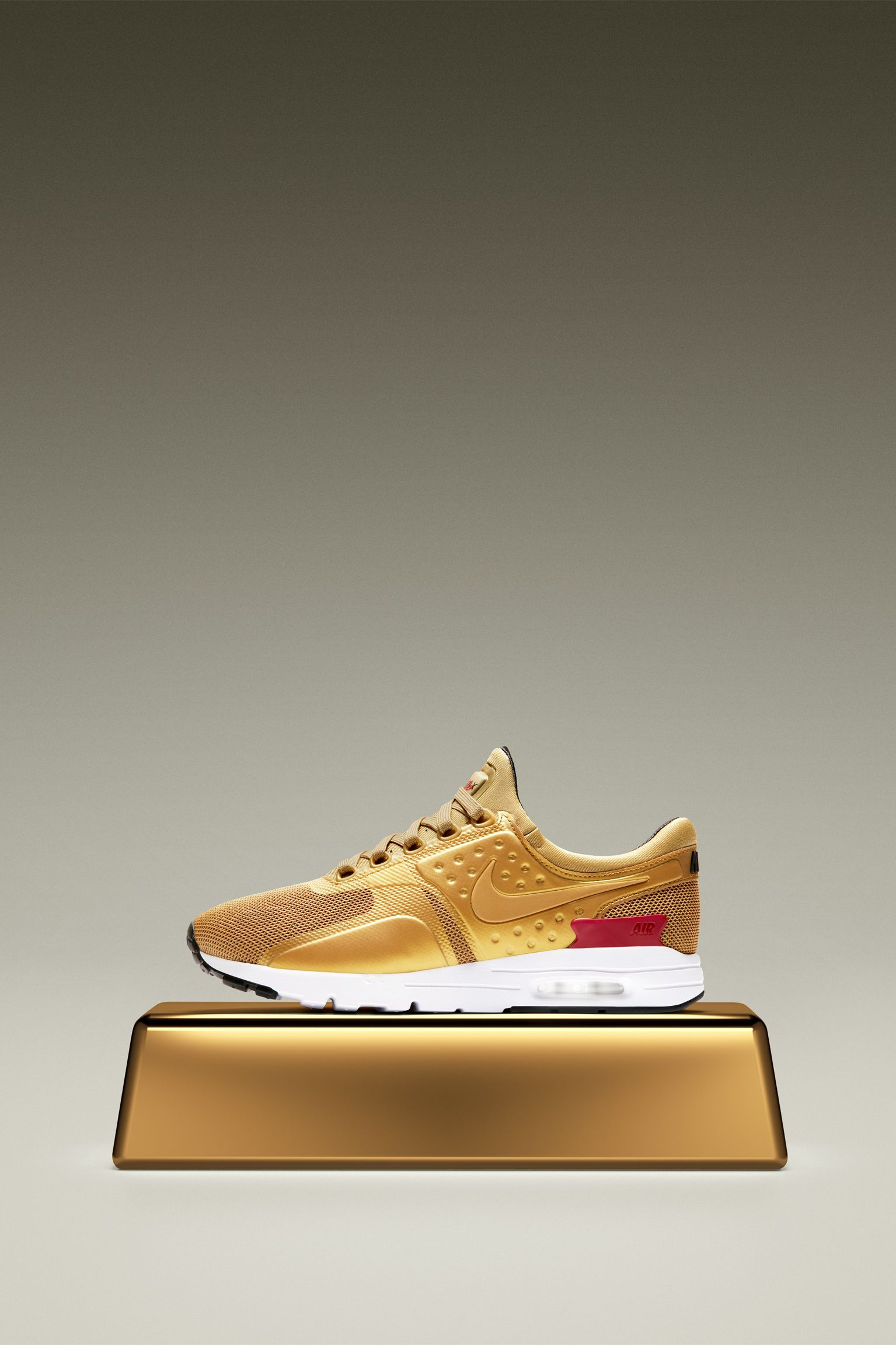 Women s Nike Air Max Zero  Metallic Gold  Release Date. Nike+ SNKRS 57c6b95bf9
