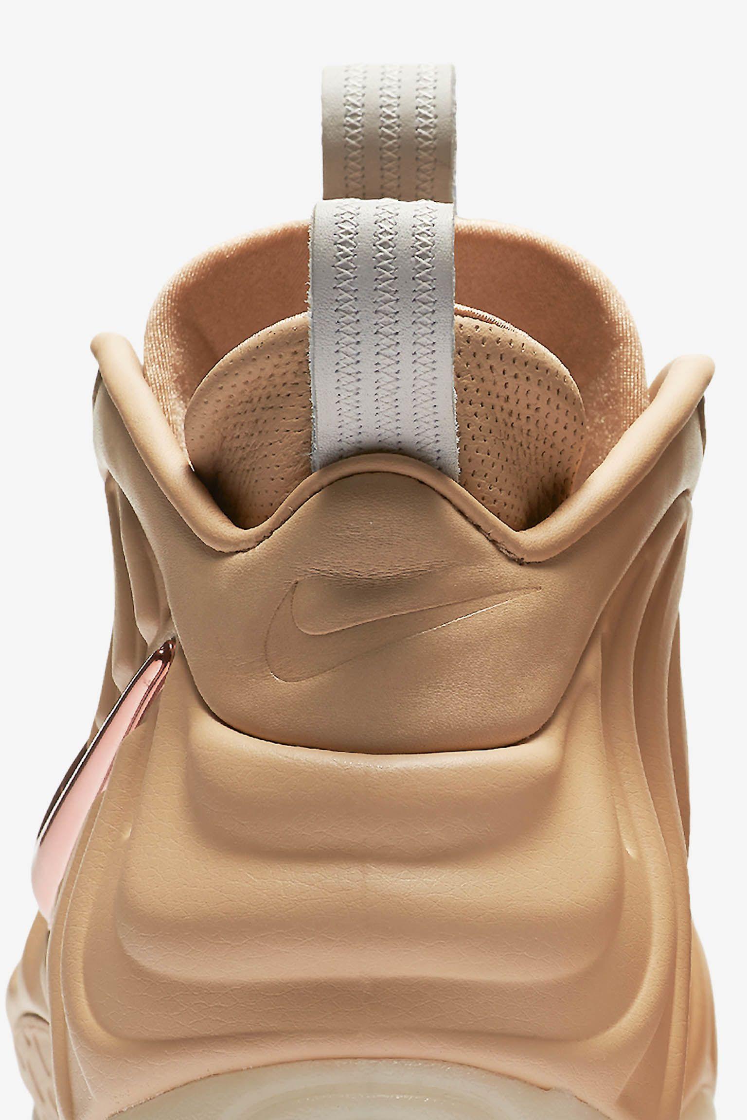 Nike Air Foamposite Pro 'Vachetta Tan & Rose Gold'