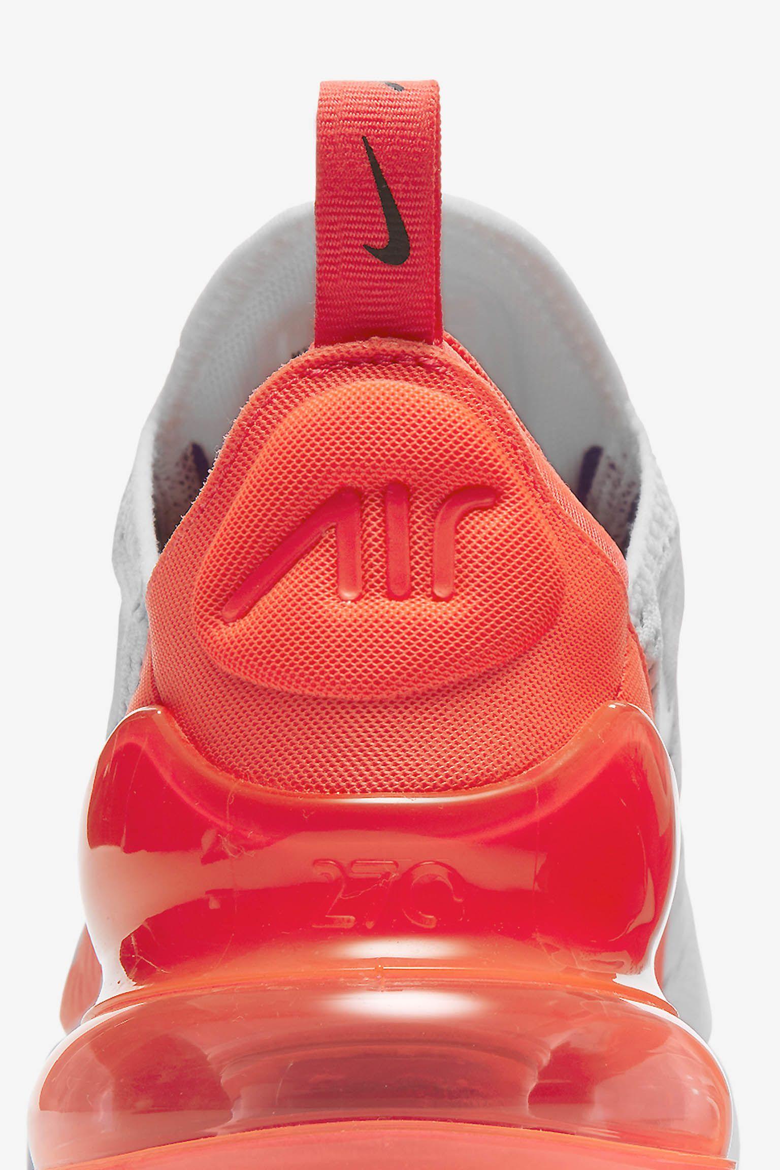 Nike Womens Air Max 270 'Ultramarine & Solar Red' Release Date