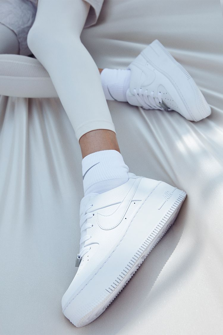 Nike Women s Air Force 1 Sage Low  White  Release Date. Nike+ SNKRS 35a1c688d8e0