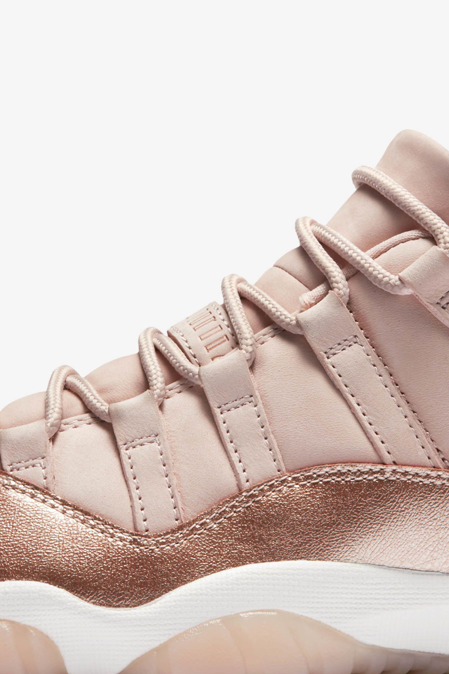 051f3712e21 Women's Air Jordan 11 'Rose Gold' Release Date. Nike+ SNKRS