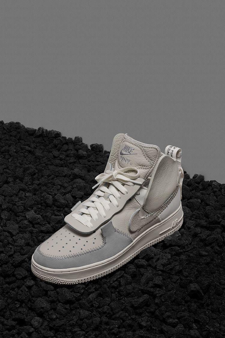 Nike Air Force 1 High PSNY 'Light Bone' Release Date