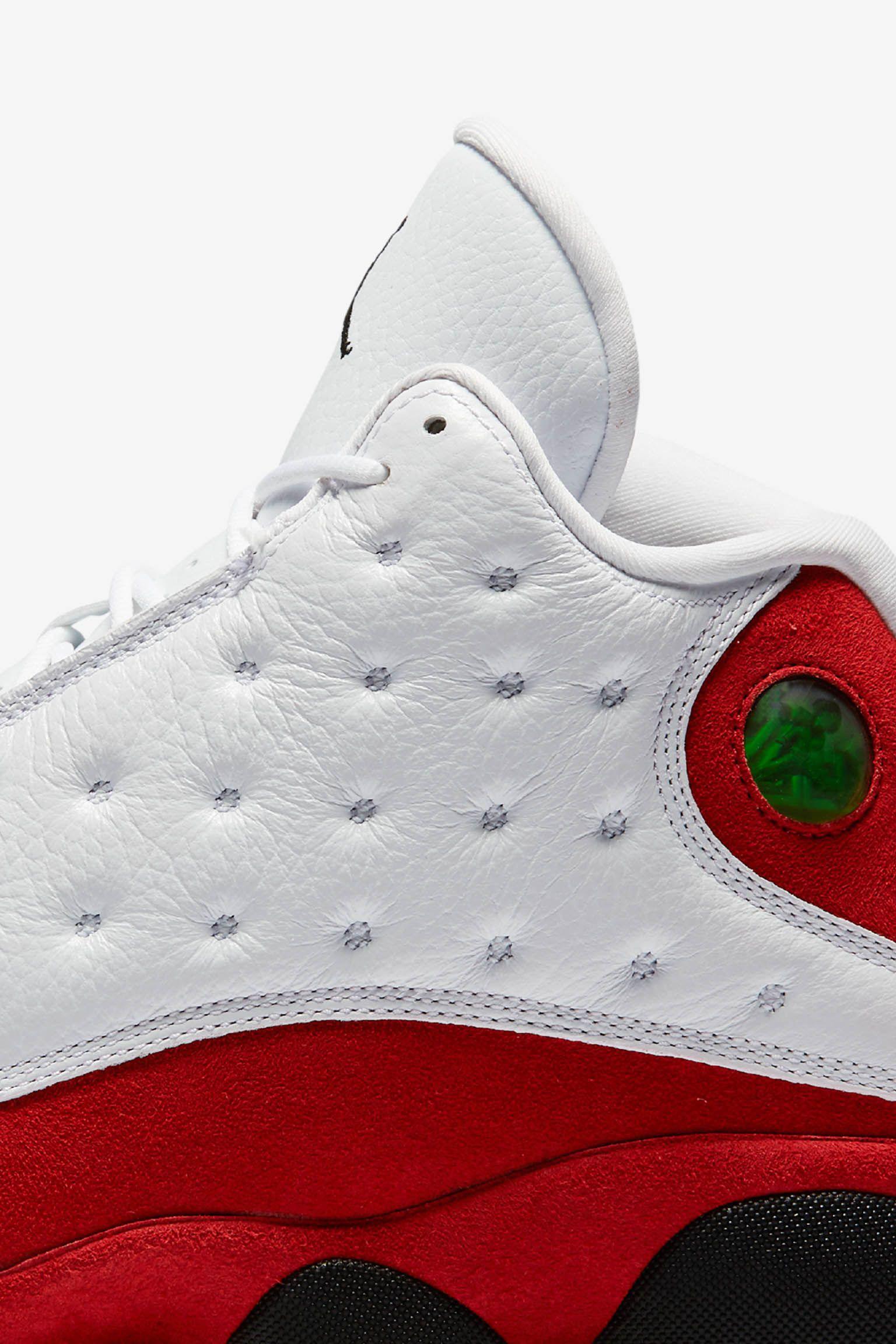 Air Jordan 13 Retro OG 'White & Team Red'