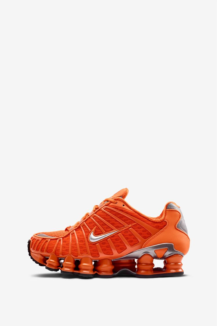 Nike Shox TL 'Clay Orange & Metallic Silver' Release Date.