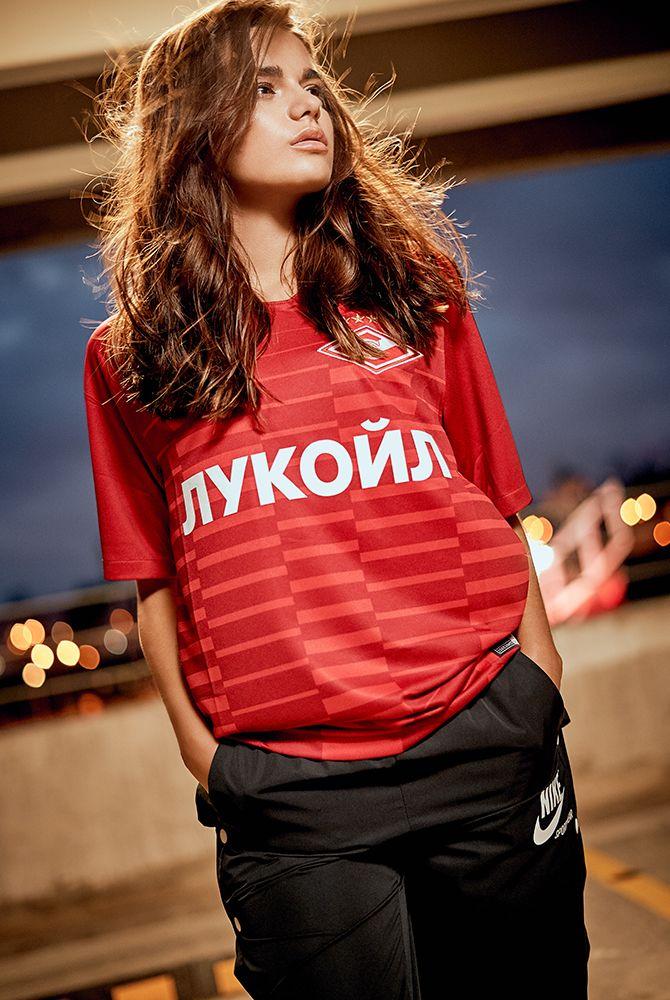 2018/19 Spartak Moscow Stadium Home Kit