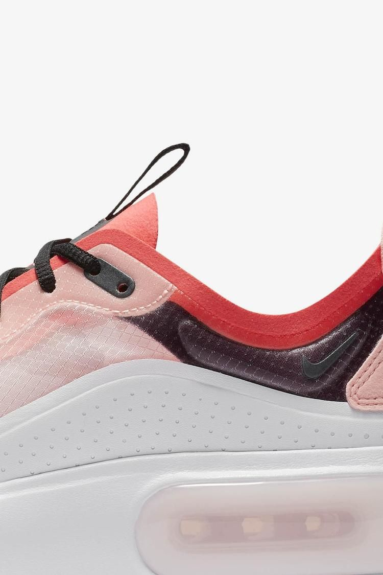 Nike Air Max Dia 'Off White & White & Flash Crimson & Black' Release Date.