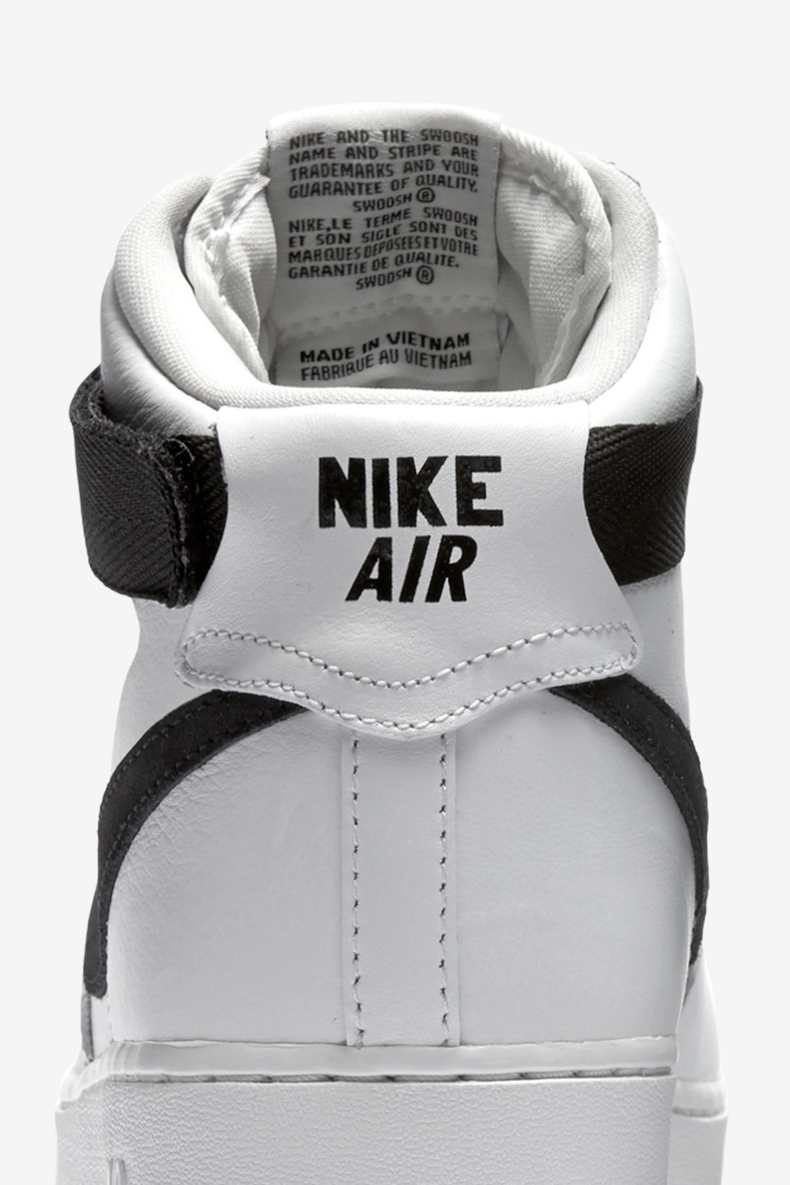 Nike Air Force 1 'Summit White & Black'