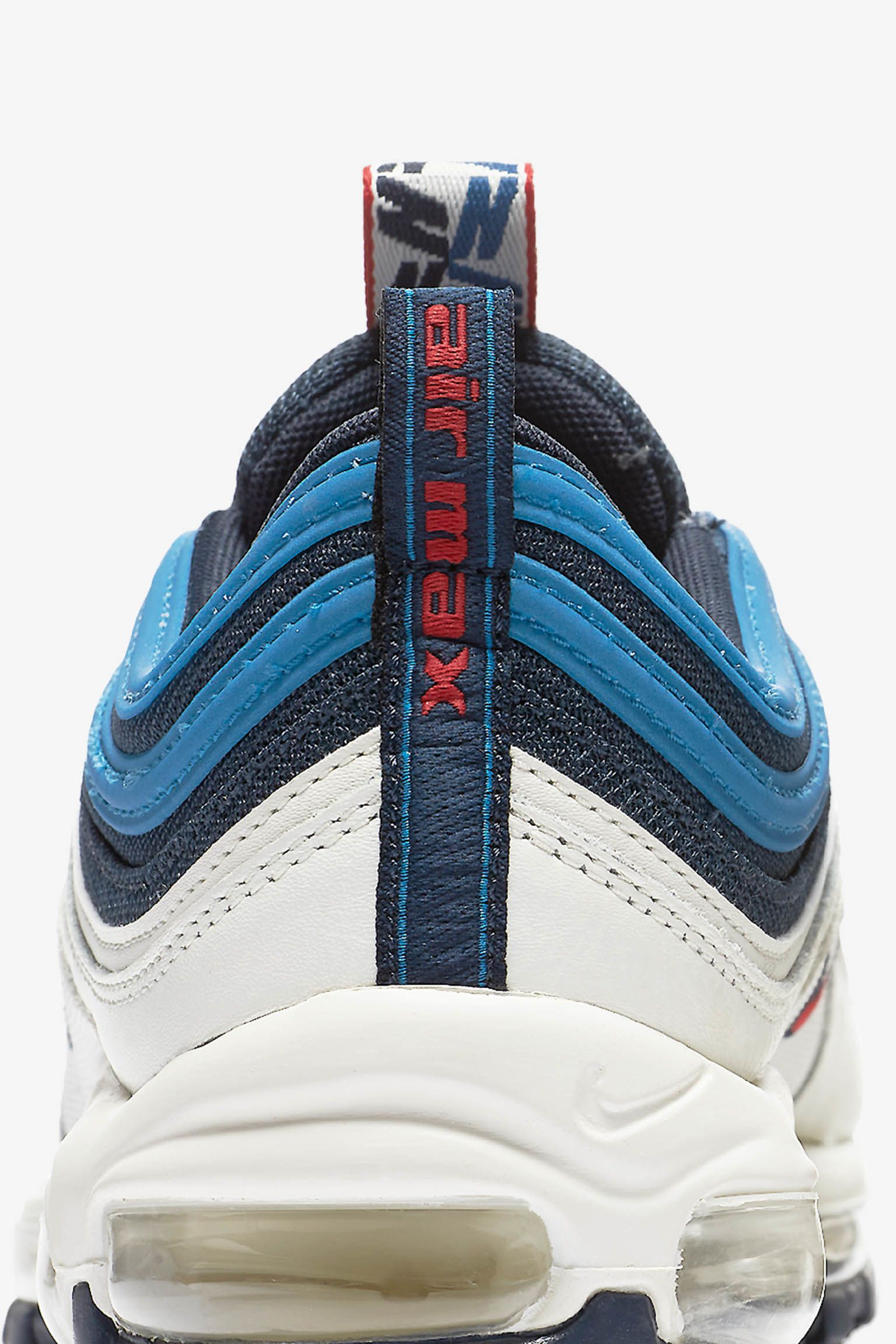 Nike Air Max 97  Obsidian  amp  Sail  Release Date. Nike⁠+ Launch GB 719a17a1f