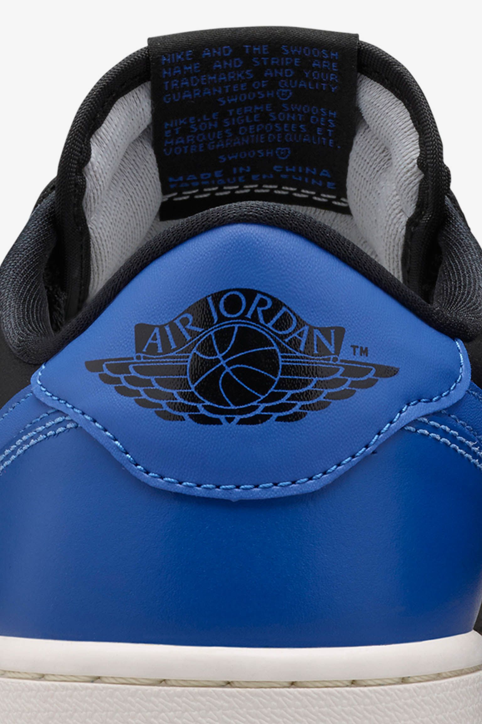 Air Jordan 1 Retro Low 'Varisty Royal' Release Date