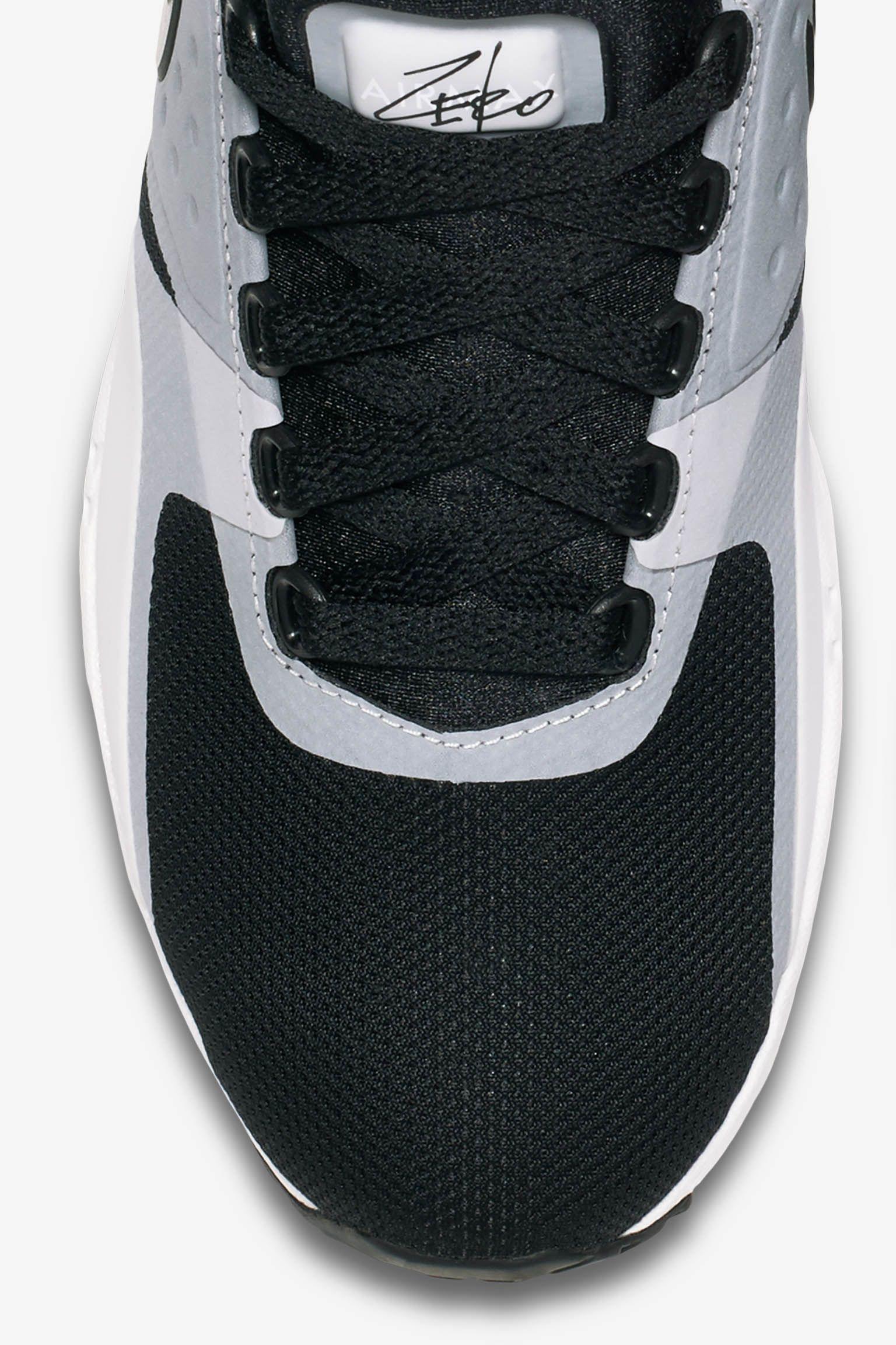 Women's Nike Air Max Zero 'White & Black' 2016