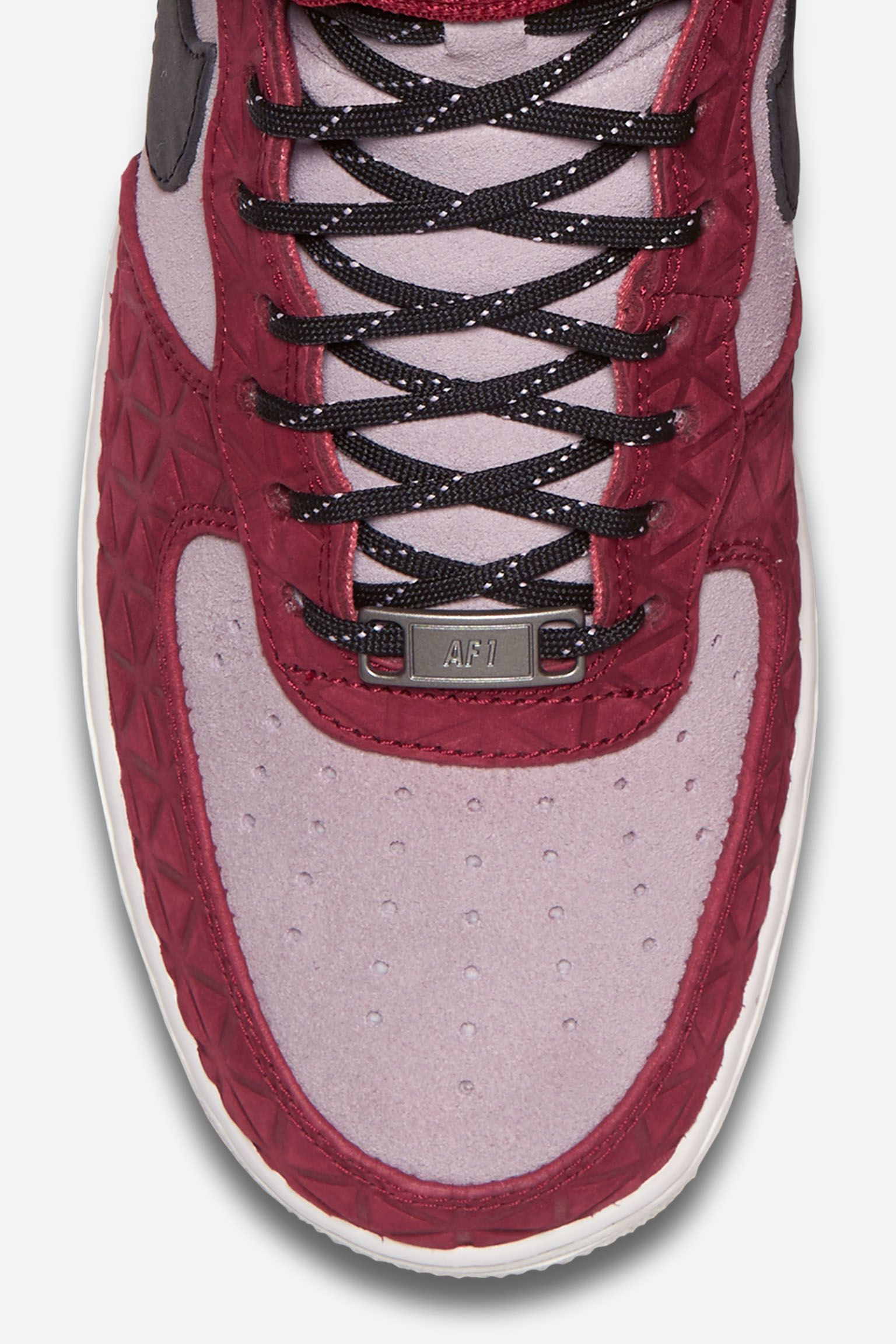Women's Nike Air Force 1 Hi Premium 'Noble Red & Plum Fog'