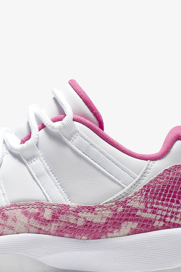Women's Air Jordan XI Low 'White / Pink' Release Date