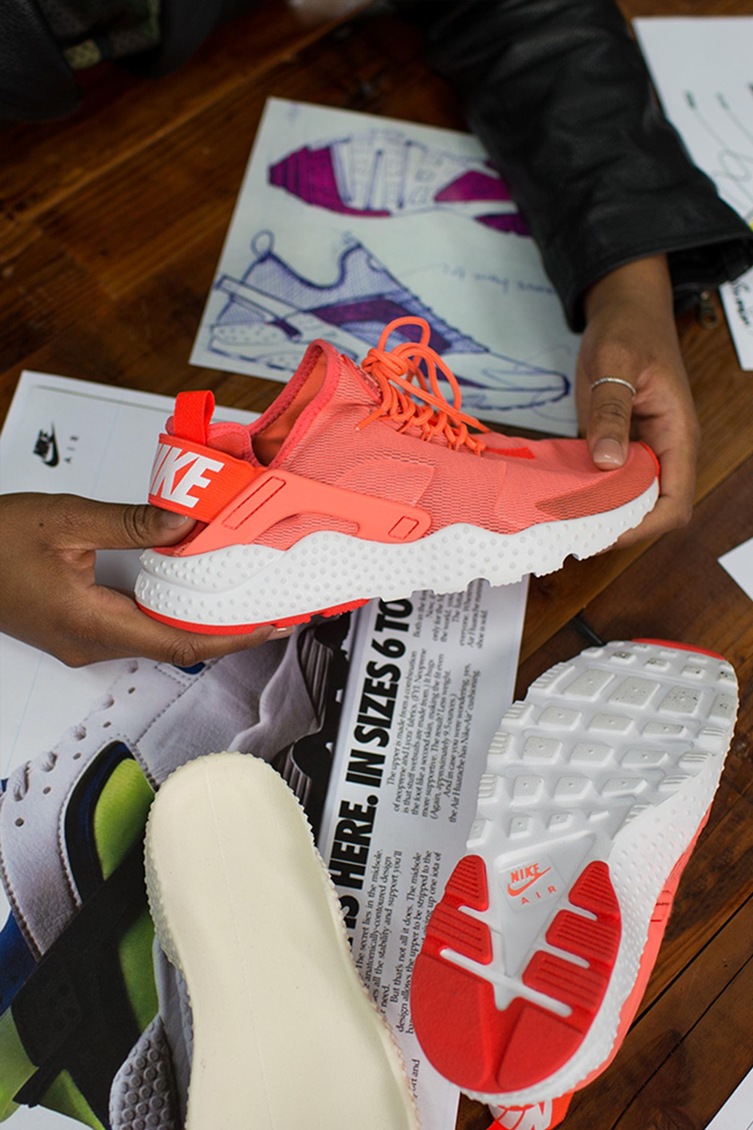 Behind the Design: Women's Nike Air Huarache Ultra