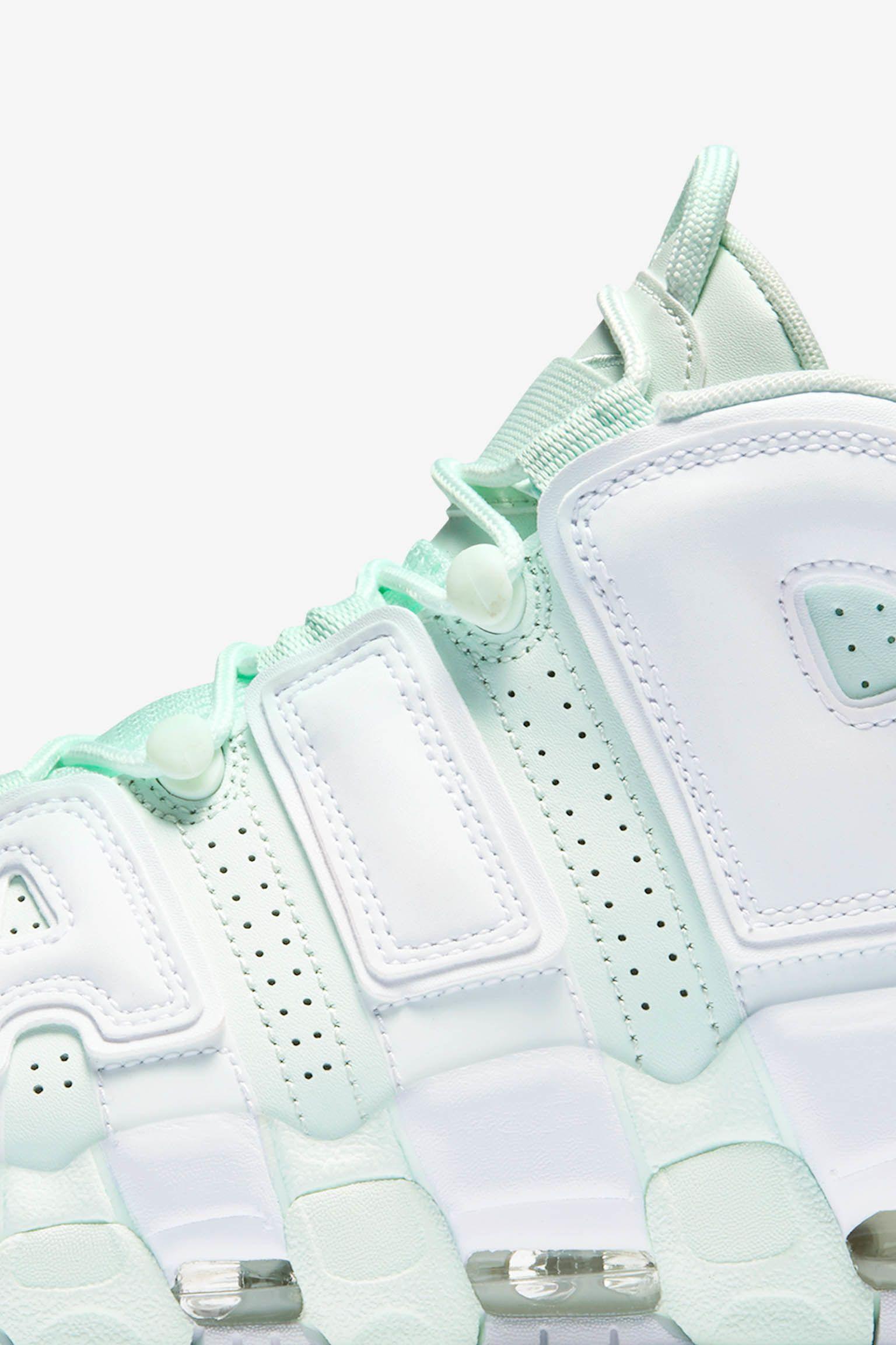 Women's Nike Air More Uptempo 'Barely Green & White'
