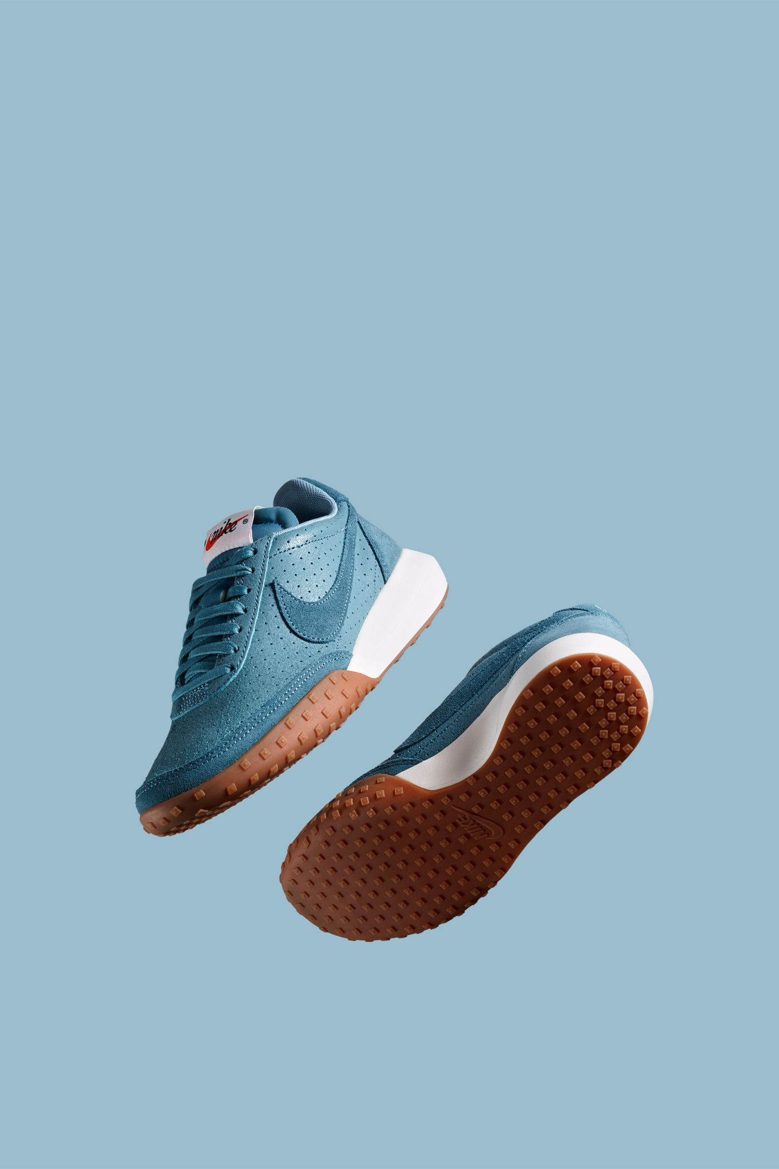 Women s Nike Roshe Waffle Racer Premium  Smokey Blue . Nike+ SNKRS f77994b65