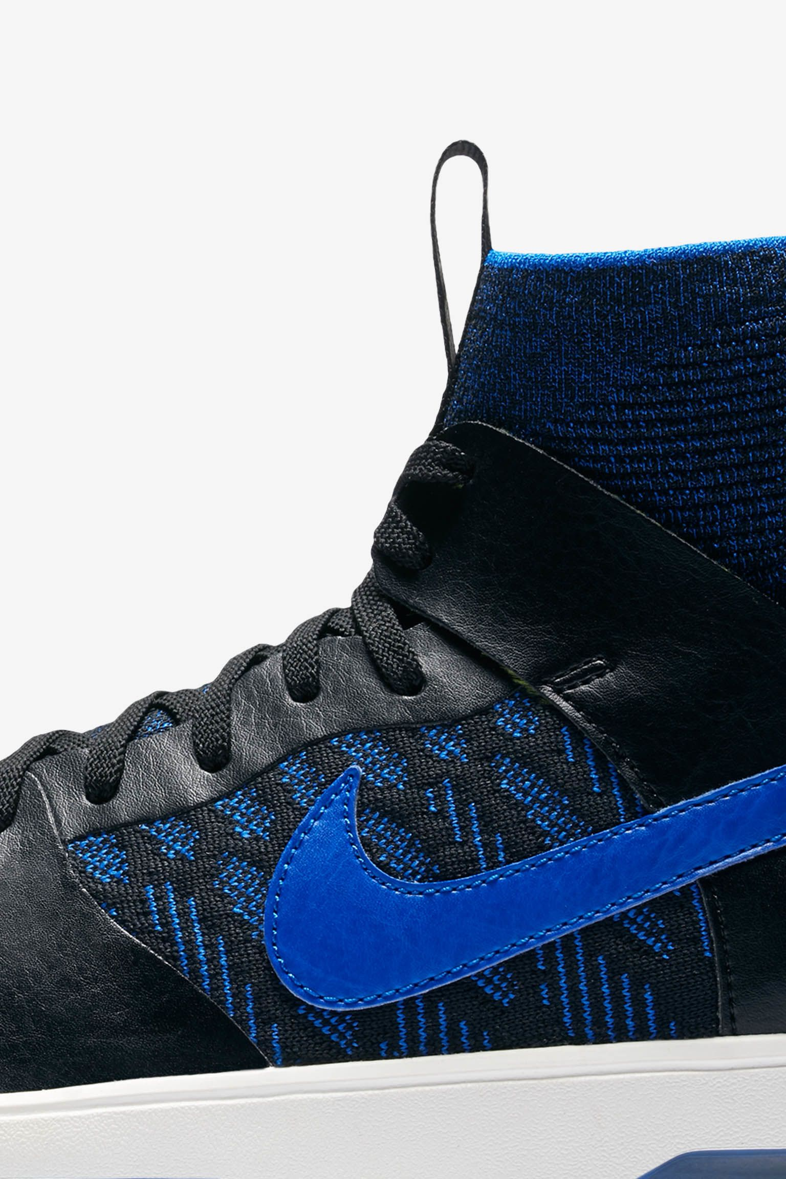 Nike SB Dunk High Elite QS 'Black & Racer Blue' Release Date.