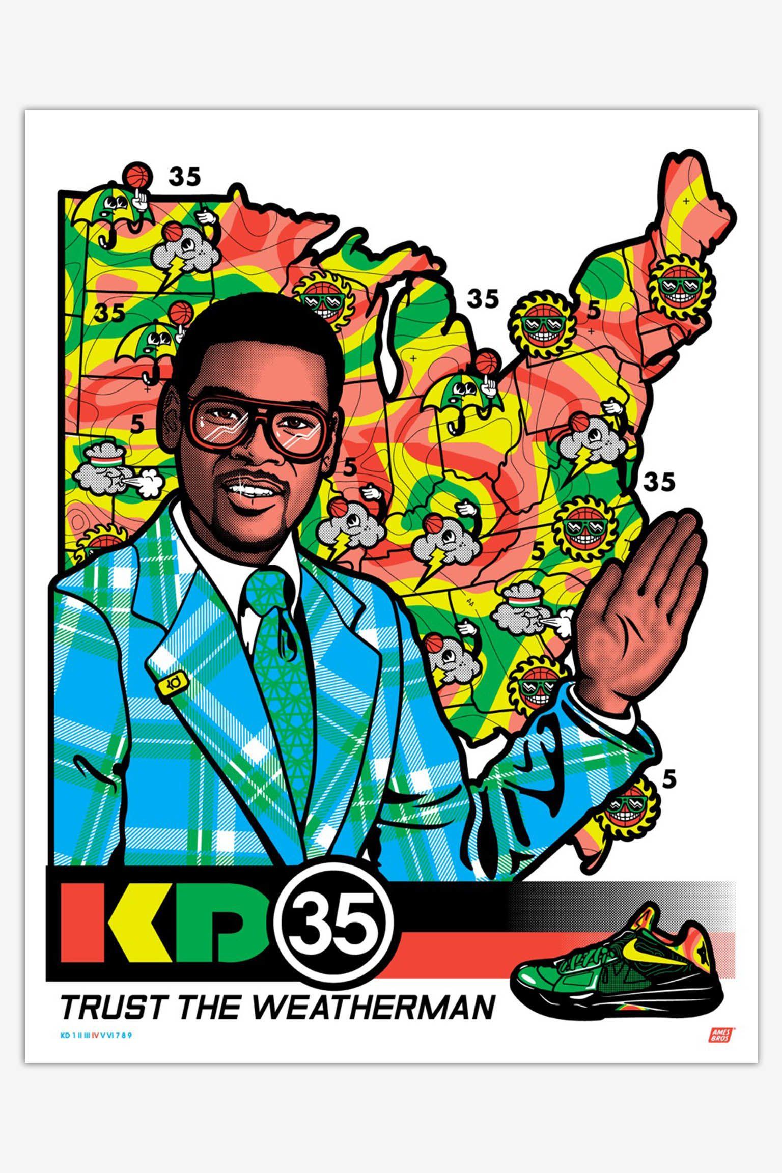 Art et Sneakers : série signature Nike KD