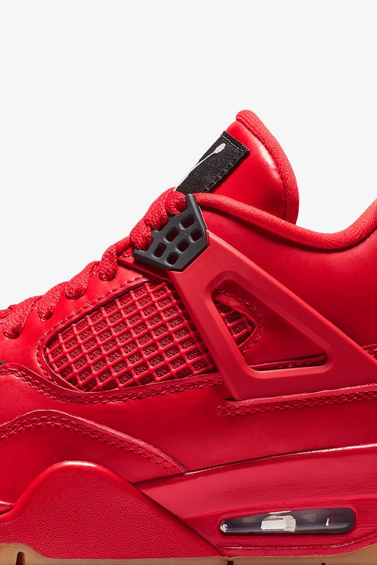 Women's Air Jordan 4 'Fire Red & Black' Release Date