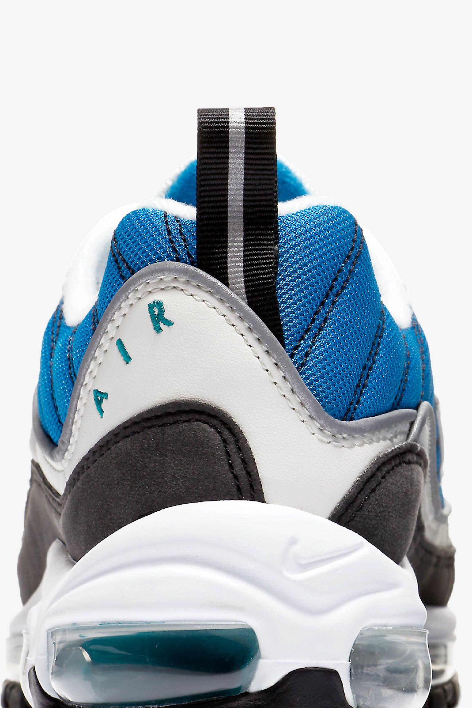 Nike Women's Air Max 98 'Radiant Emerald & Blue Nebula' Release Date