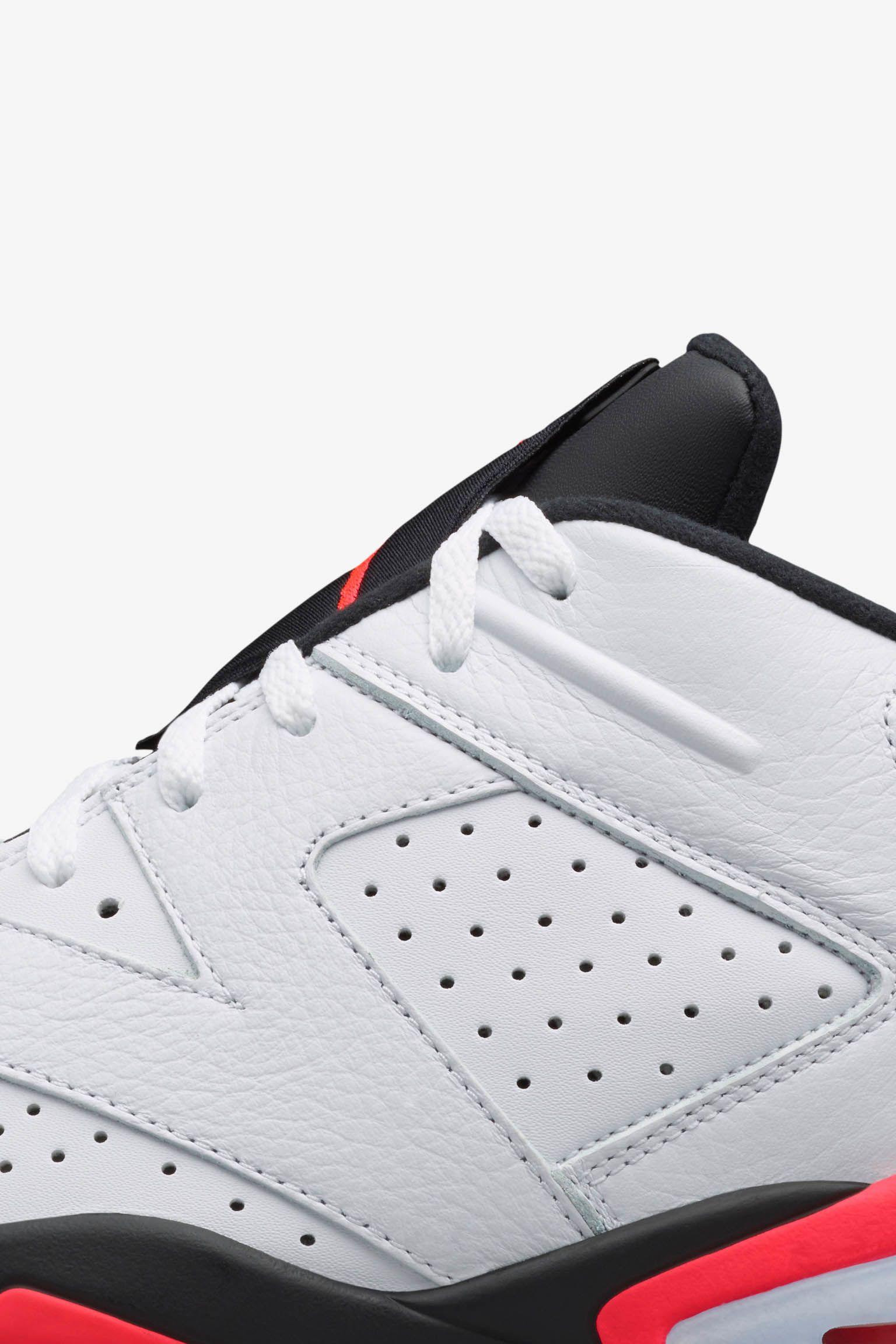 Air Jordan 6 Retro Low 'Infrared 23' Release Date
