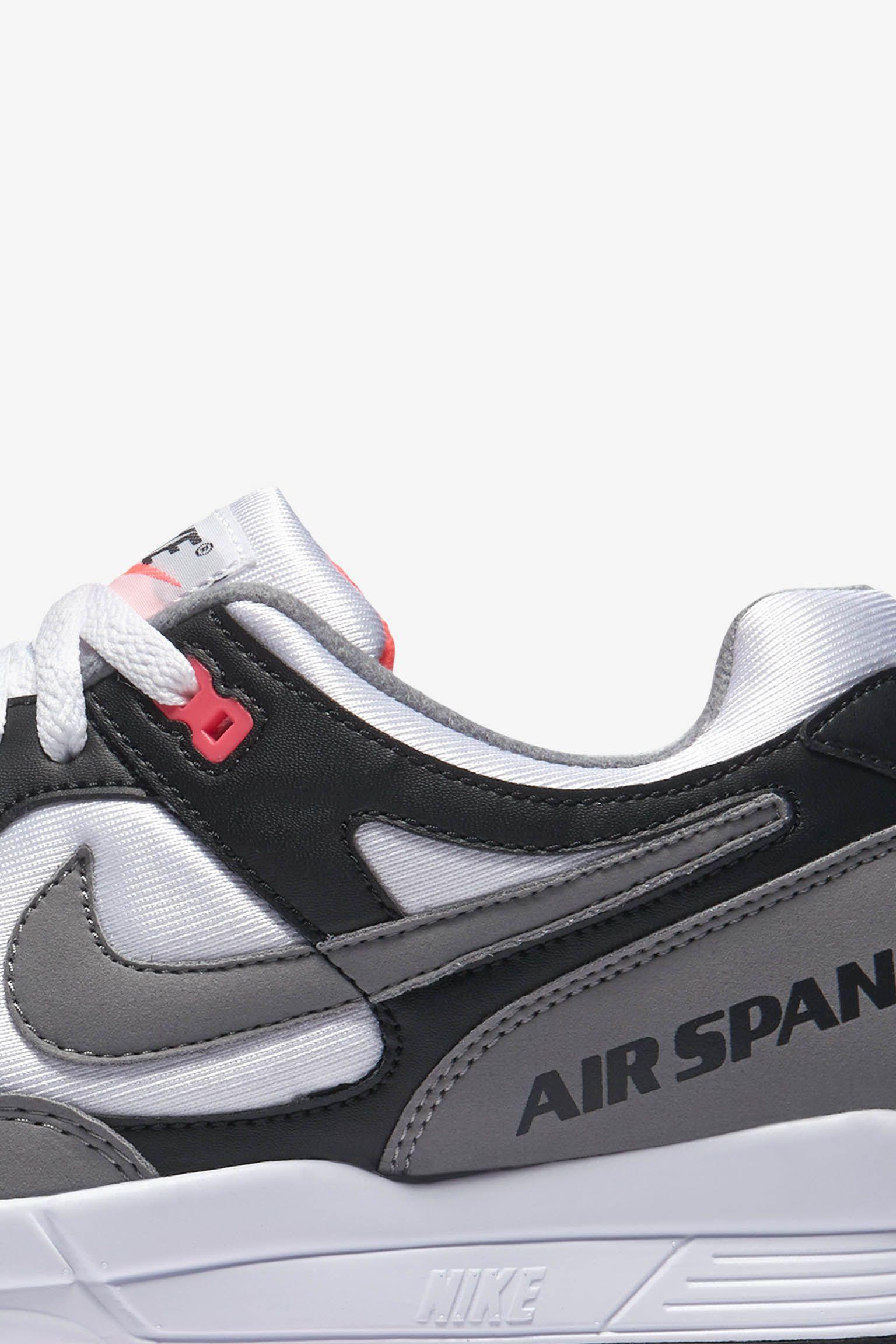 Nike Air Span 2 'Black & Dust' Release Date