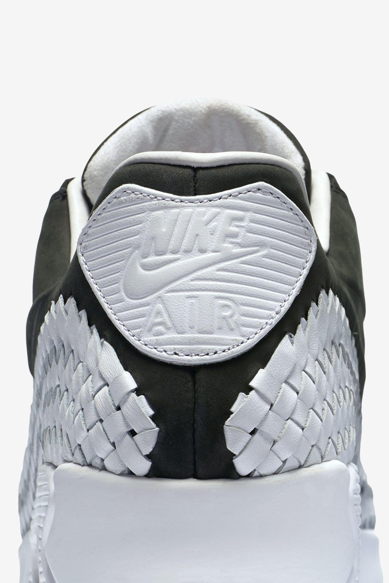 Nike Air Max 90 Woven Premium 'Black & White'