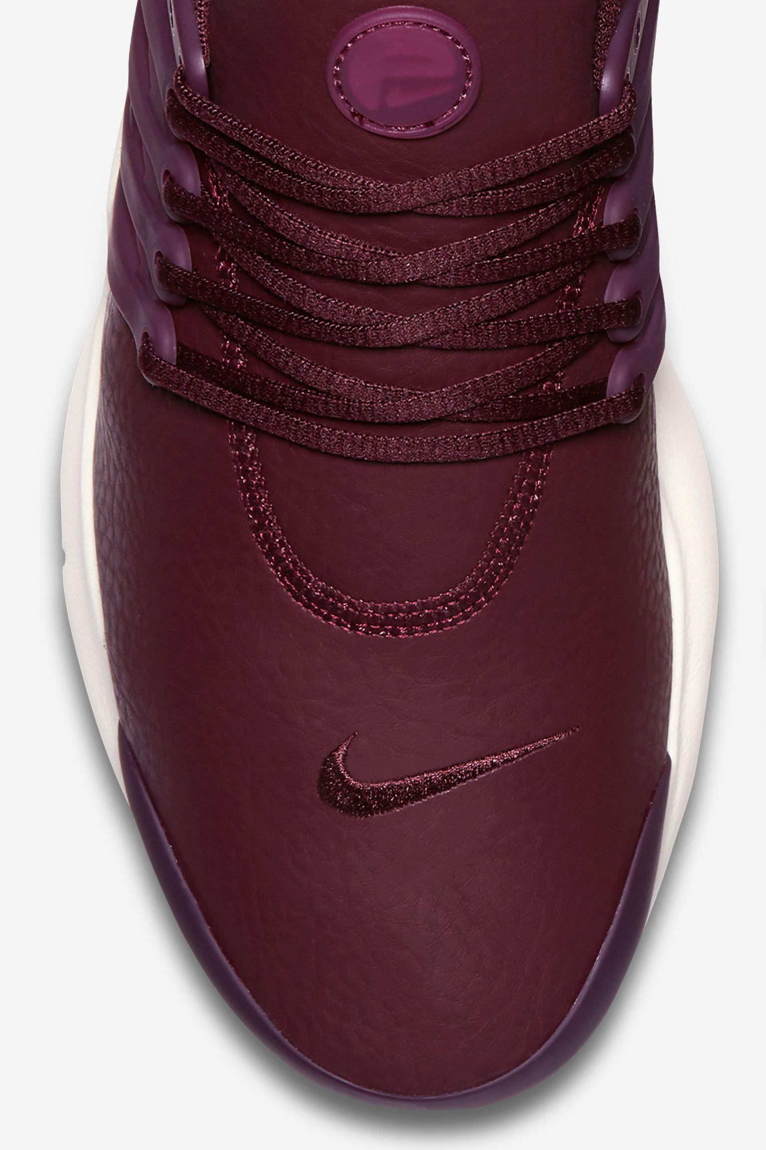 Nike Air Presto Premium 'Night Maroon' til kvinder