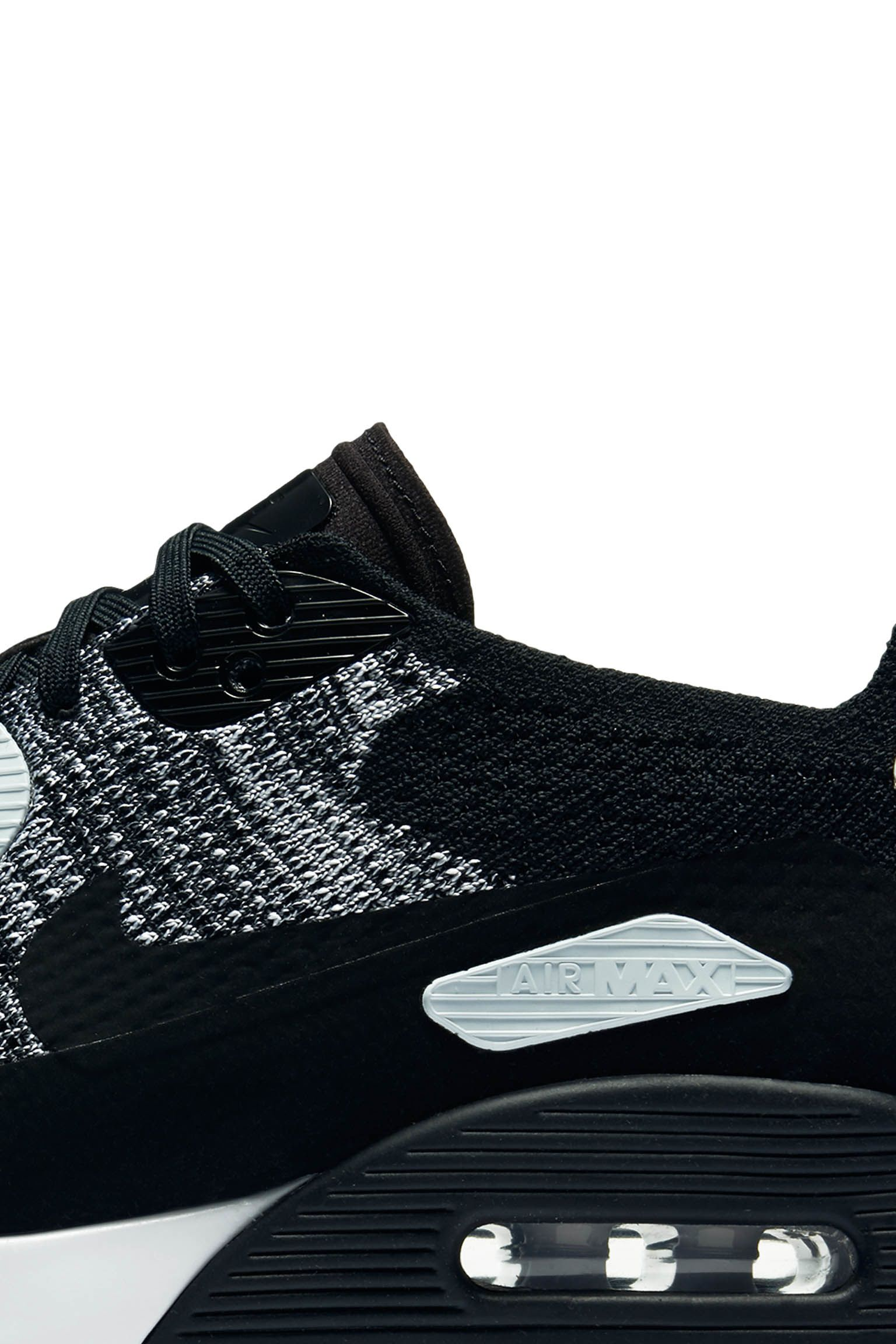 "Buty damskie Nike Air Max 90 Ultra 2.0 Flyknit ""Black & Anthracite"""