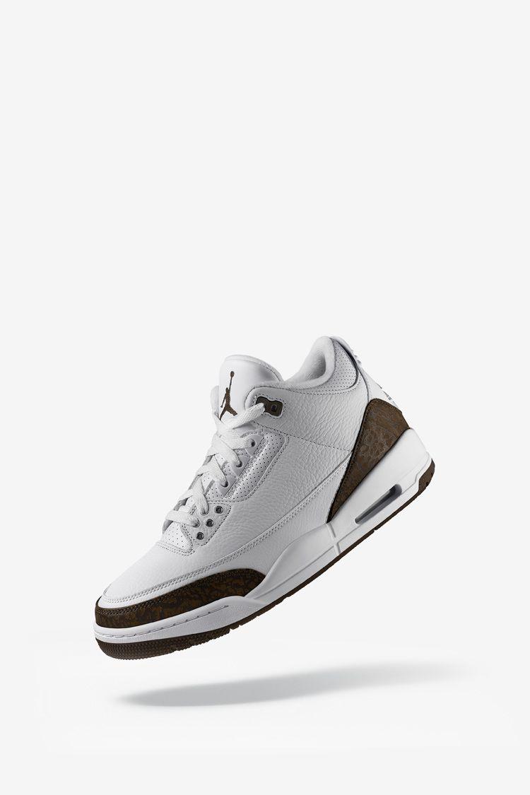 Air Jordan 3 Retro 'White & Chrome & Dark Mocha' Release Date