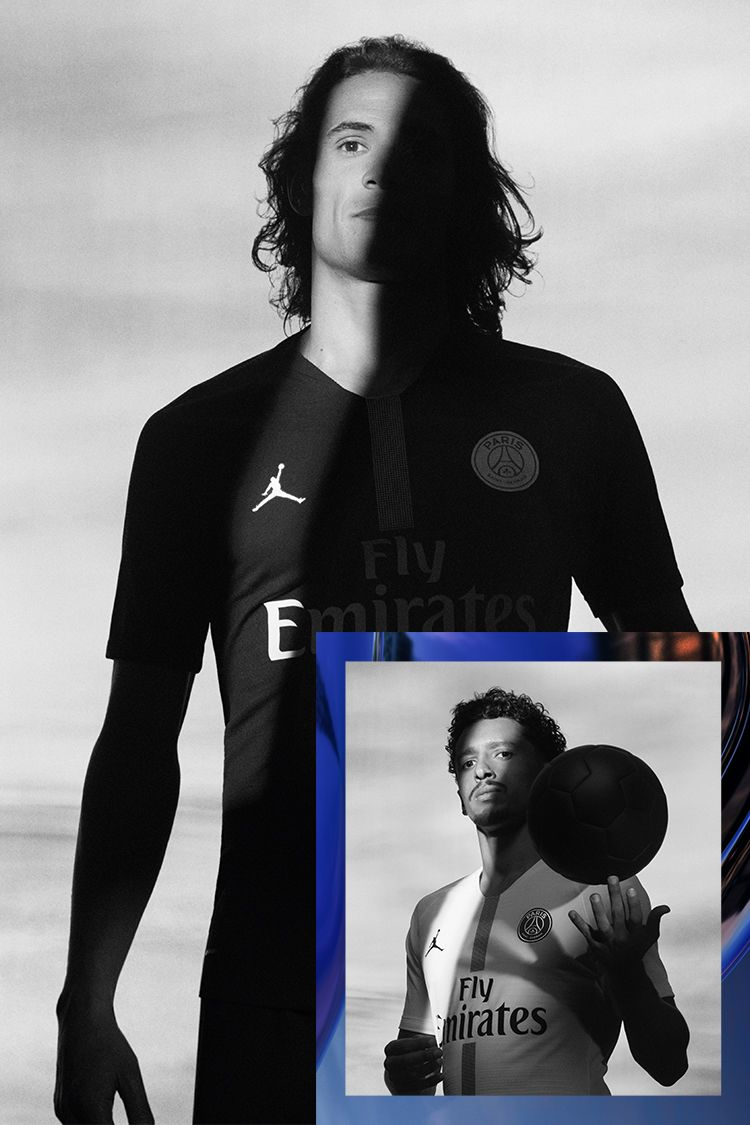 Jordan X Paris Saint-Germain Football Collection