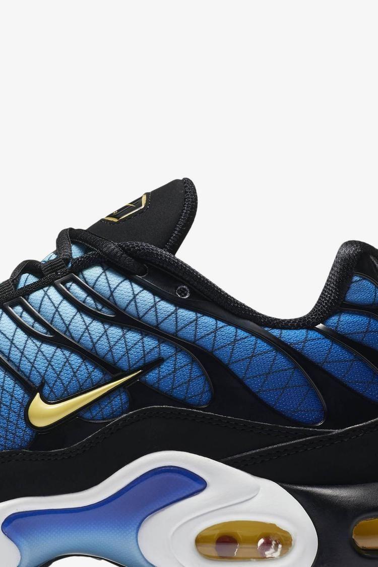 9da459c4a9 Nike Air Max Plus 'Black & Tour Yellow & Team Orange' Release Date