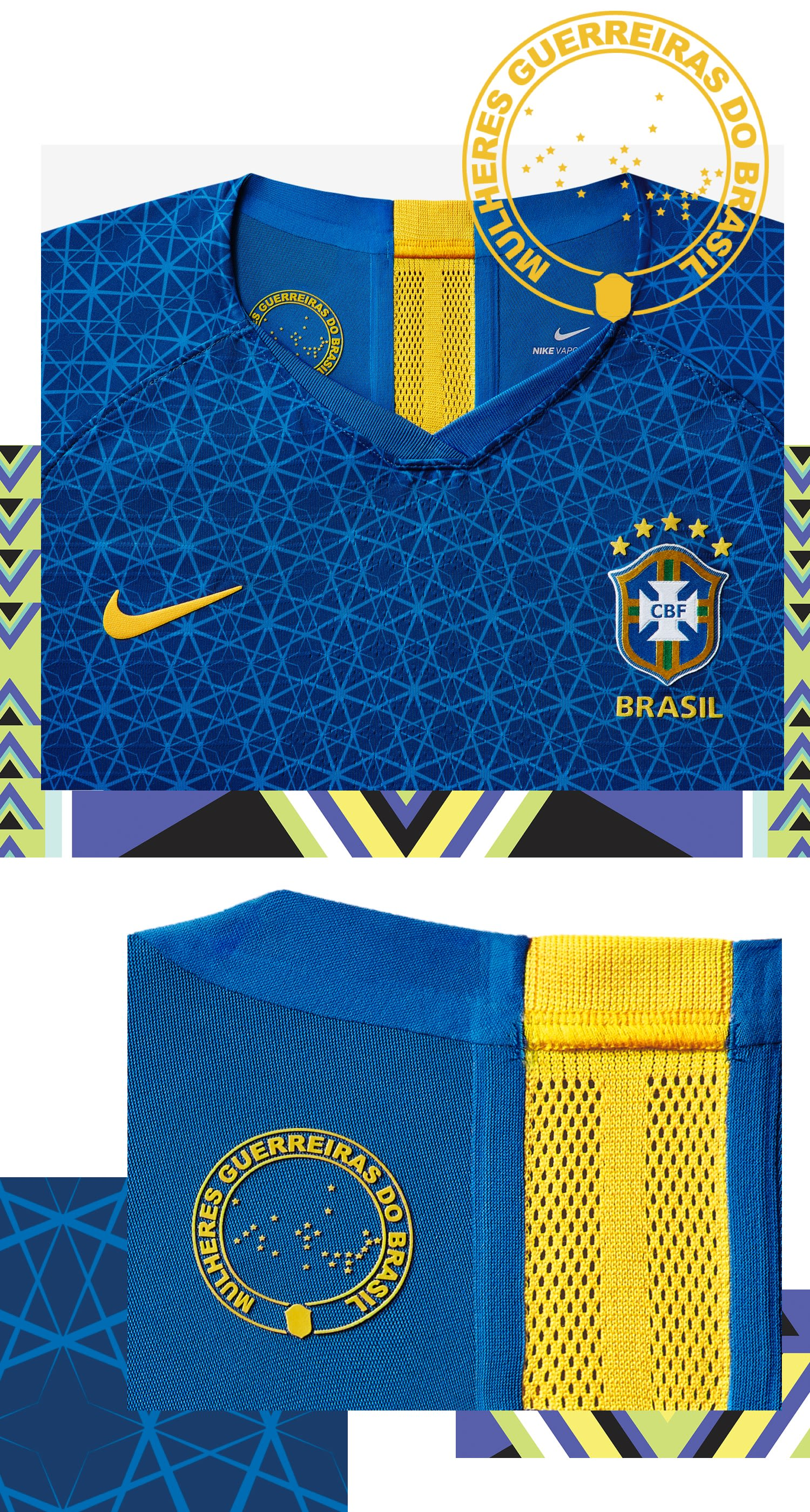 2019 Brasil National Team Stadium Away Jersey
