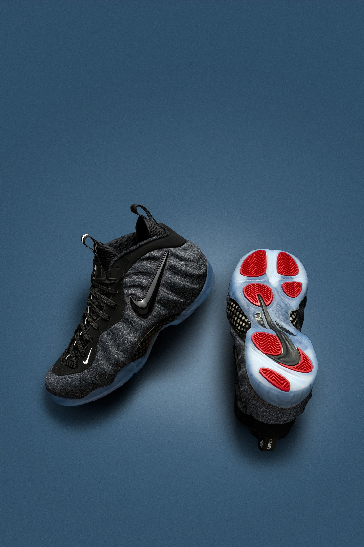 Nike Air Foamposite Pro 'Dark Heather Grey & Black'