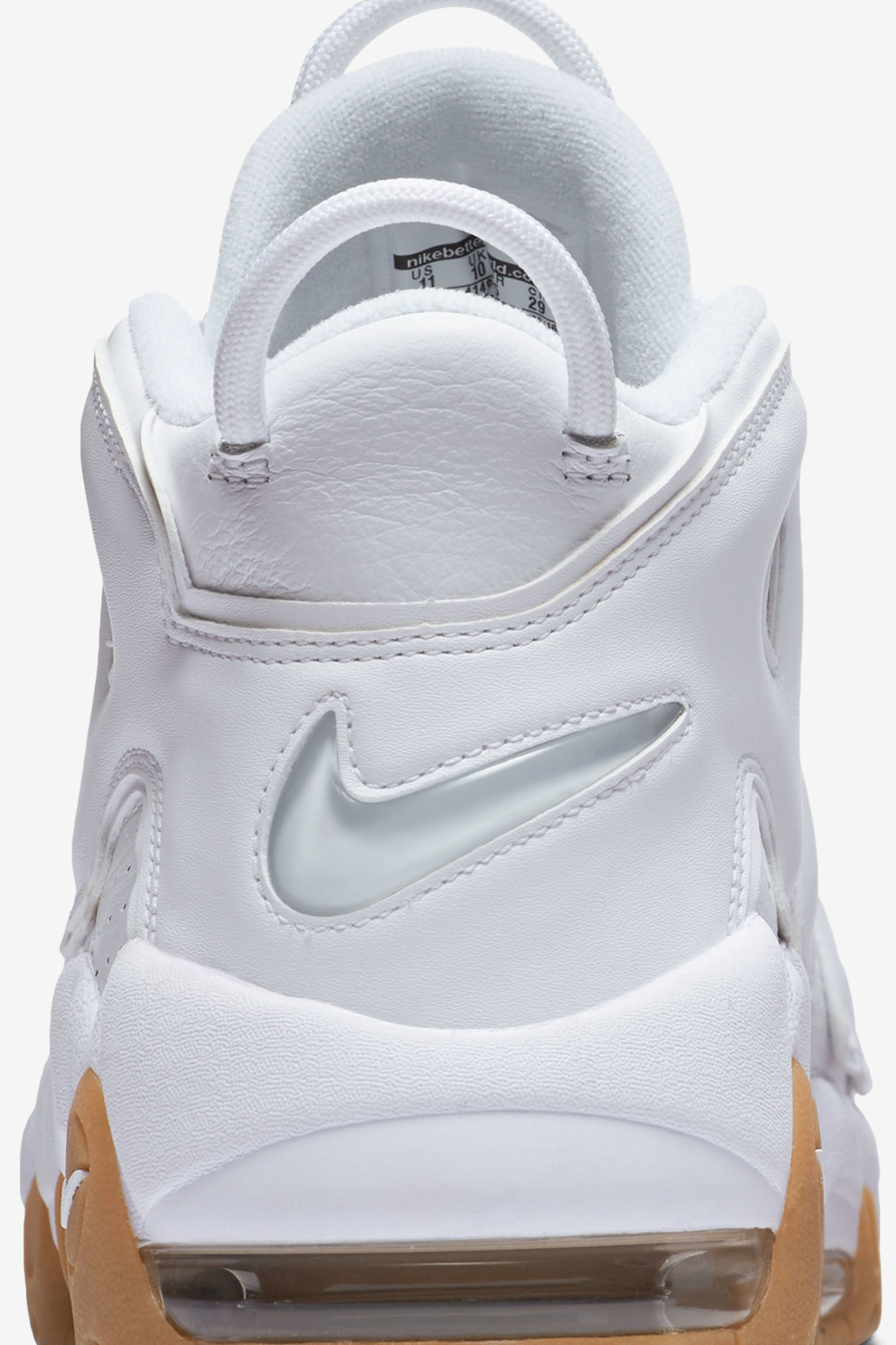 Nike Air More Uptempo 'Triple White'