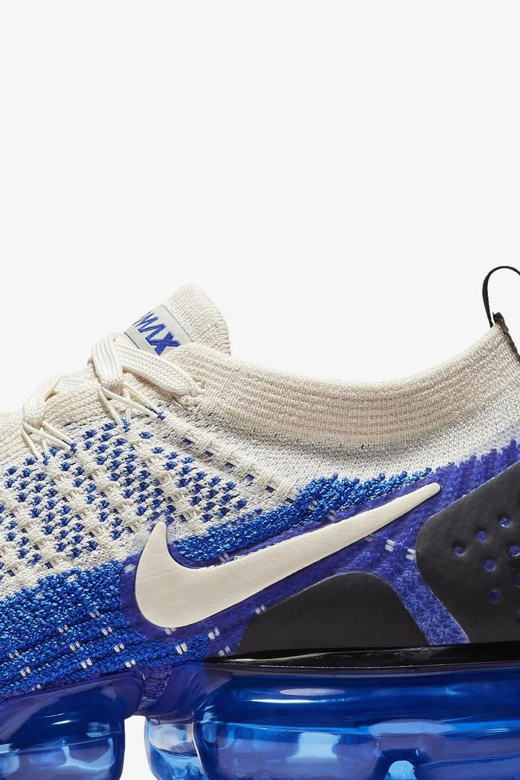 ... prices 9b6f0 a598e ... this shoe performs in the rat race and the   release date ecc14 79a2d Nike Air VaporMax 2 Light Cream Racer Blue running  flyknit ... 540a97acd