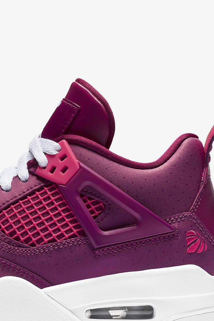 Big Kids' Air Jordan 4 Retro 'Berry Pink' Release Date