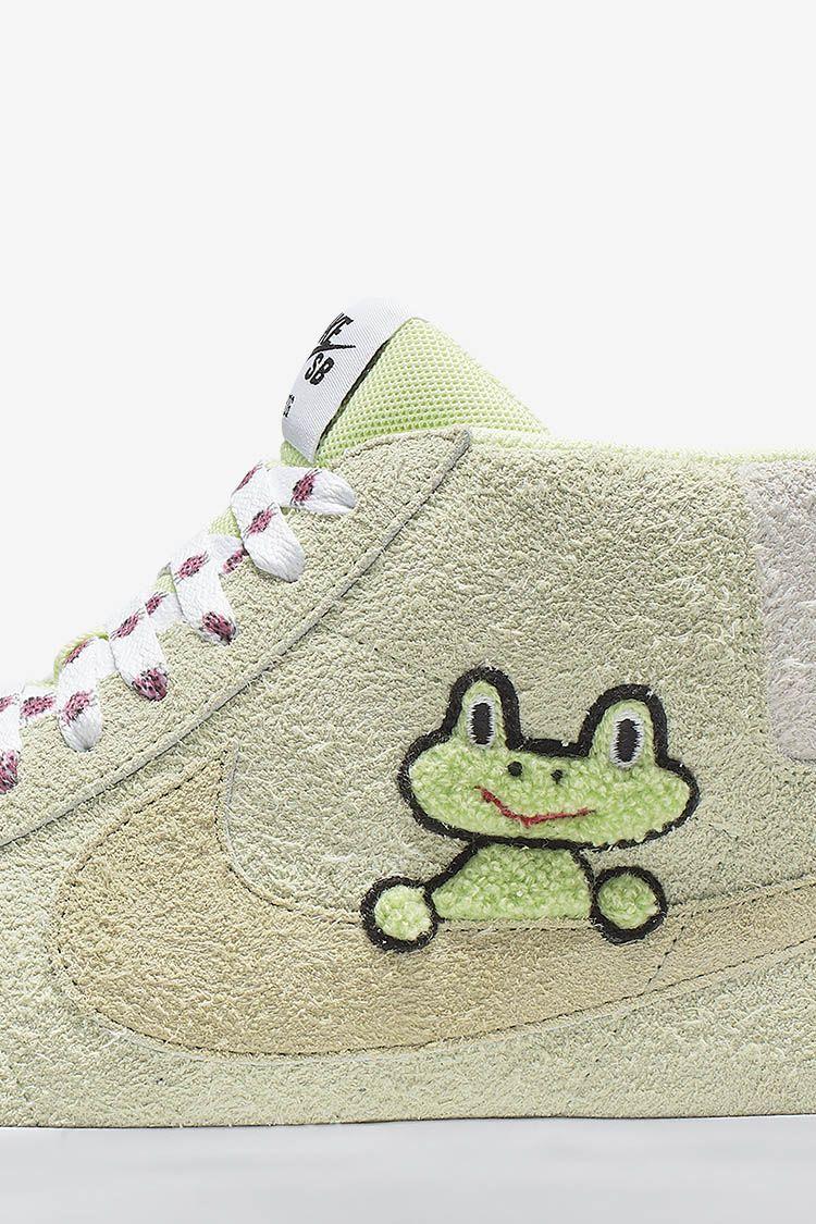 Nike SB Zoom Blazer Mid 'Frog Skateboards' Release Date