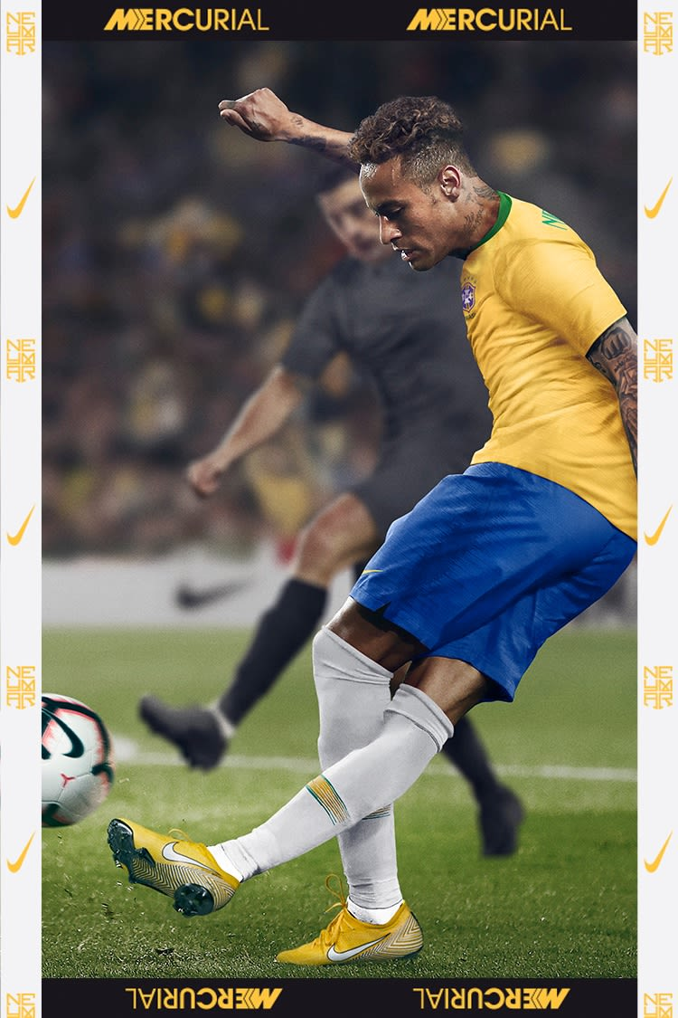 Boots of a Phenom Neymar Jr. Meu Jogo Mercurial Vapor 360